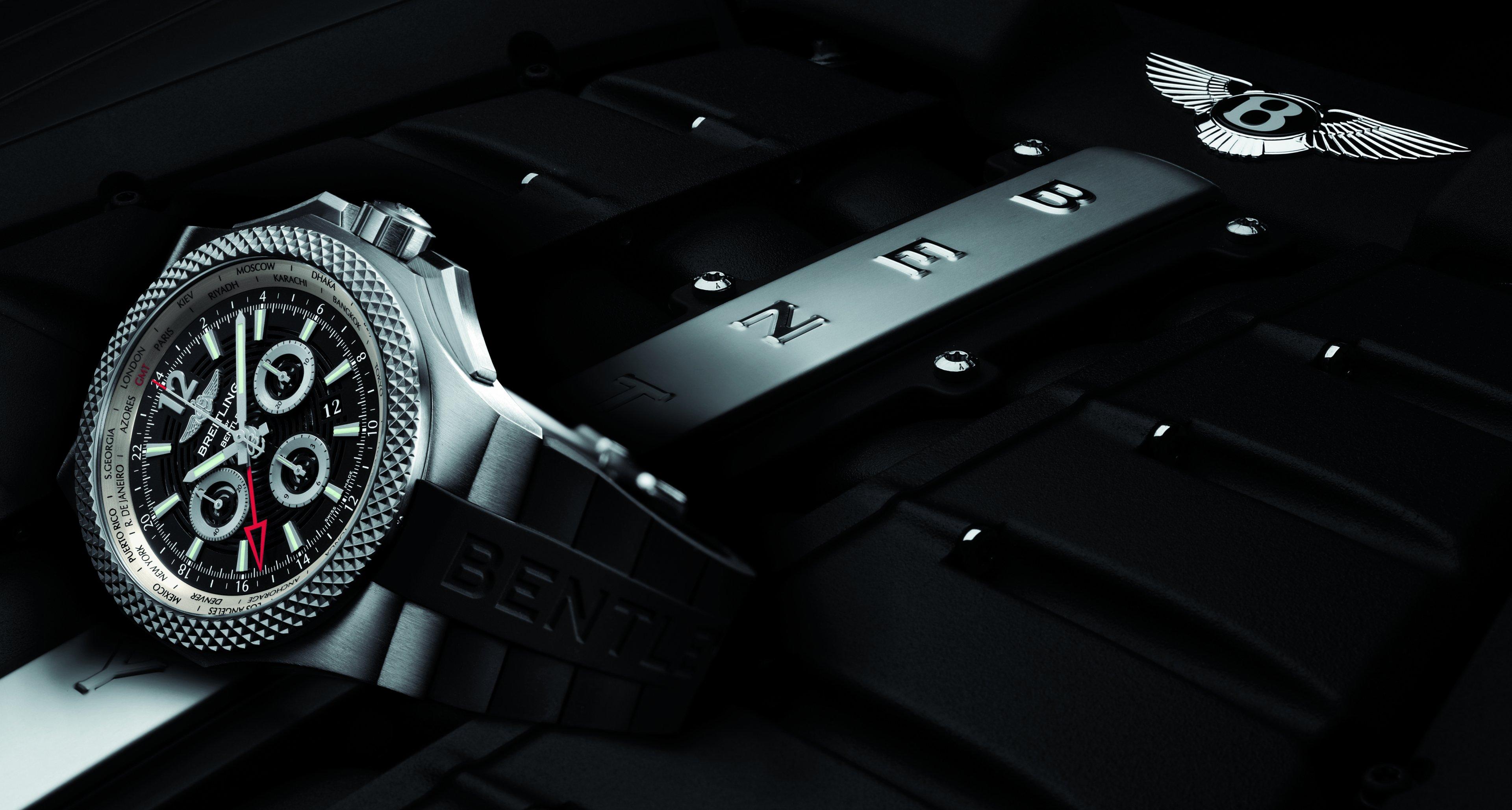 Breitling for Bentely Bentley GMT Light Body B04