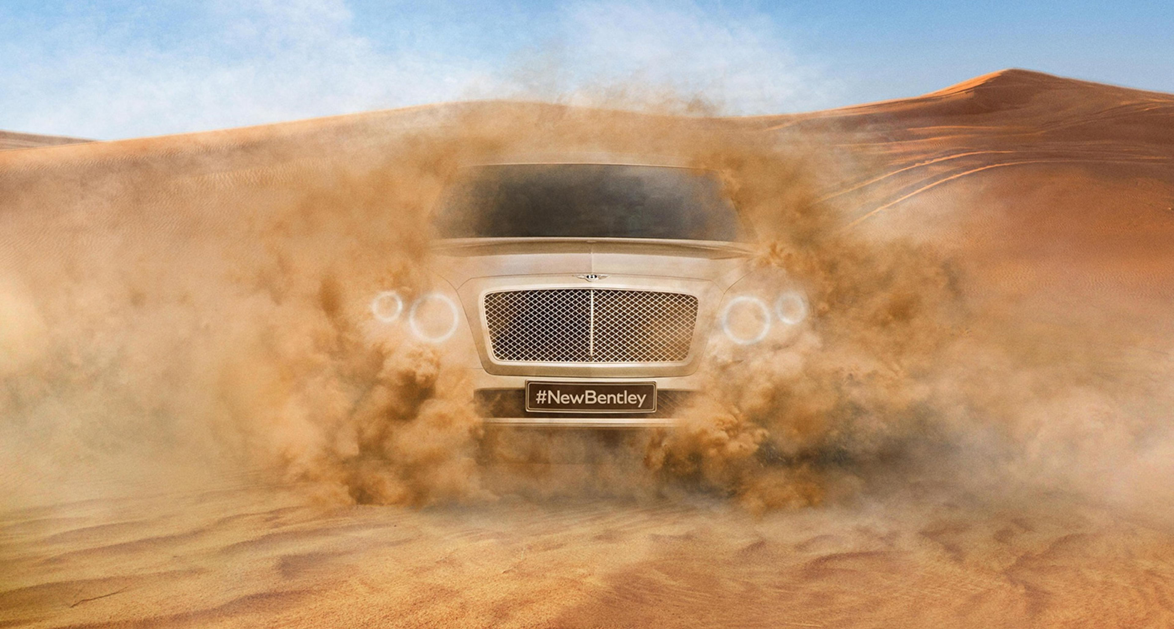 The new Bentley SUV will arrive in 2016