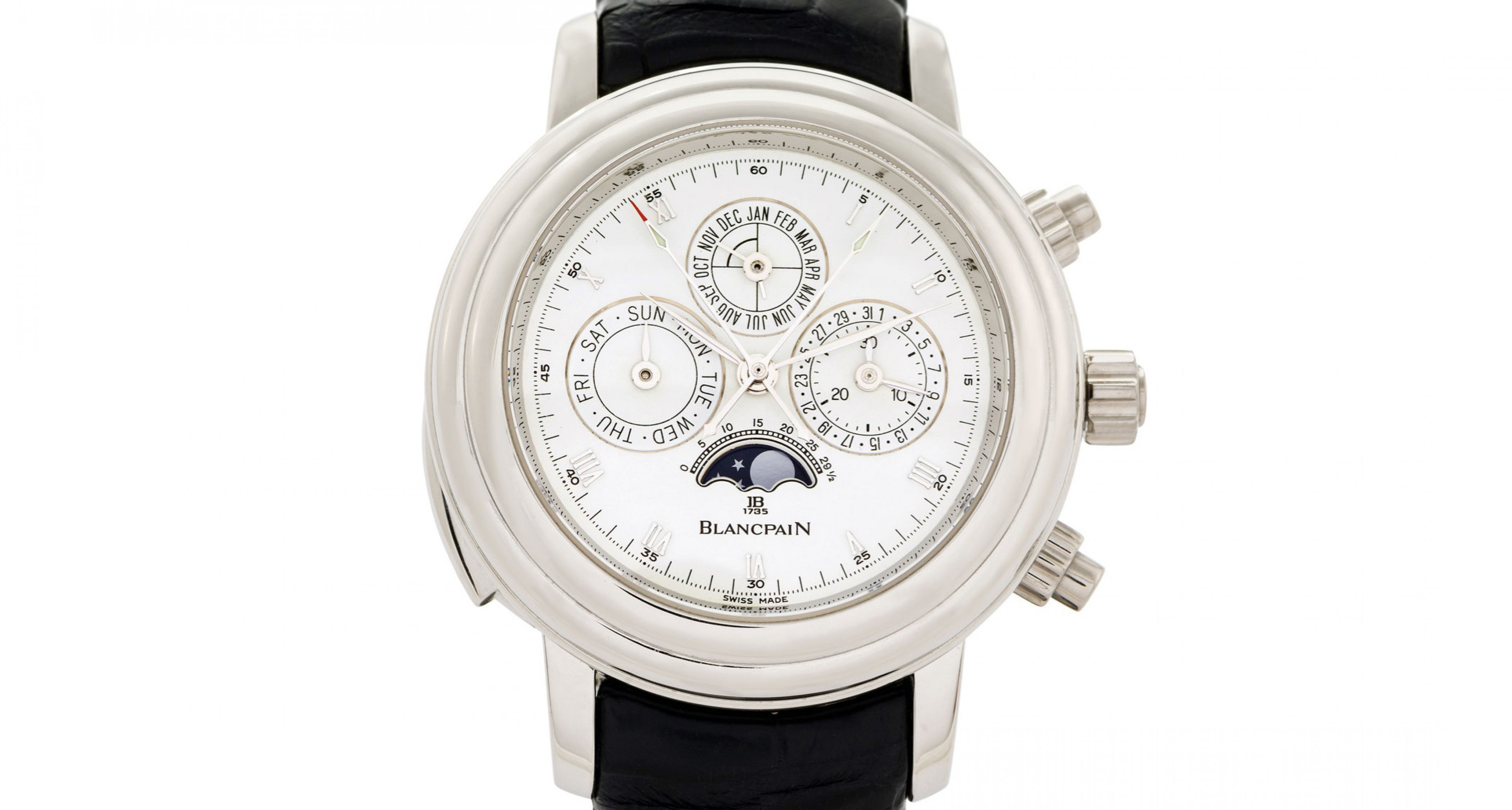 A upcomming brand? This Blancpain Grande Complication was also succesfully sold by Antiquorum