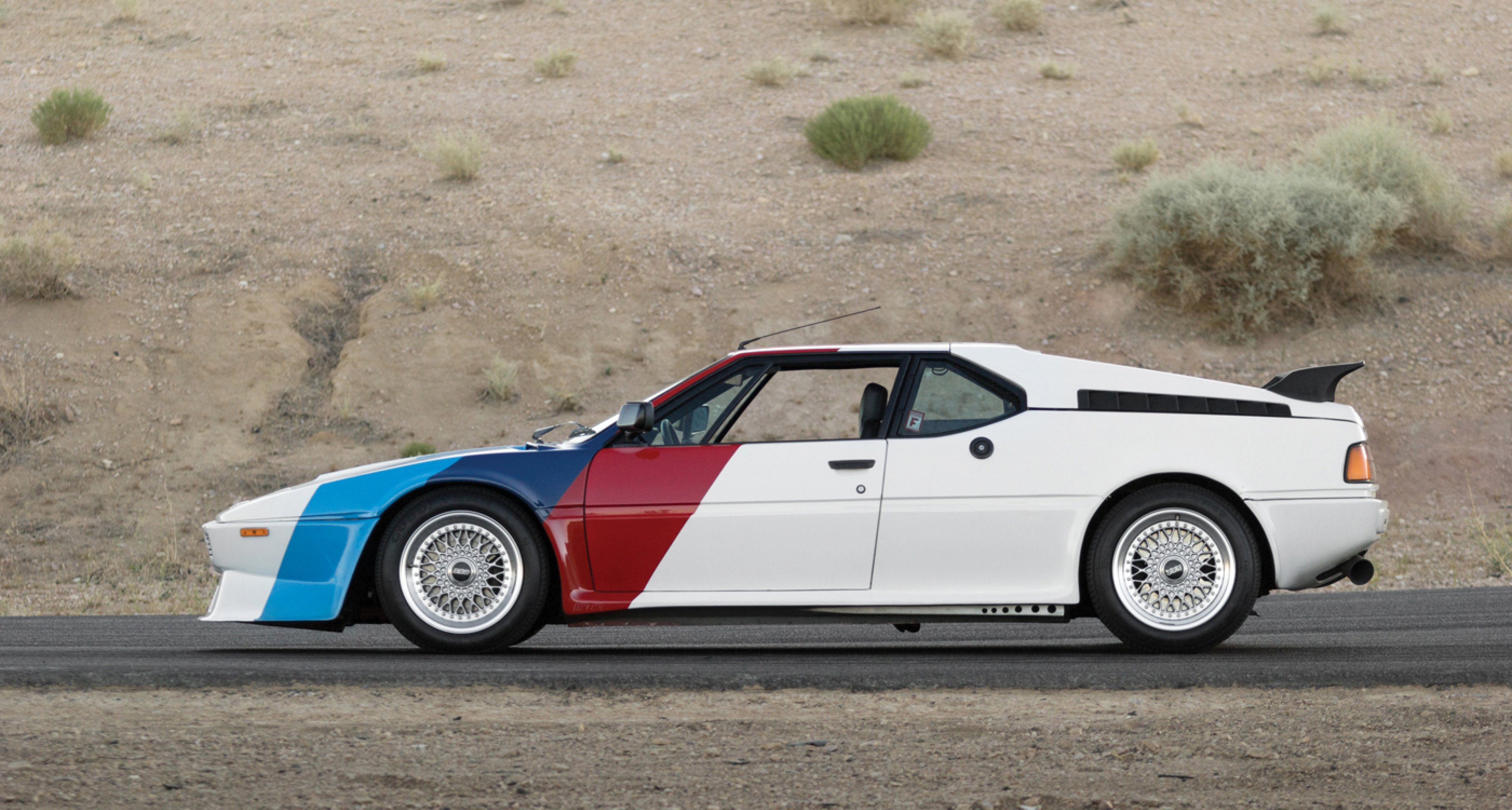 1980 BMW M1 AHG Studie To Be Auctioned At RM039s Monterey