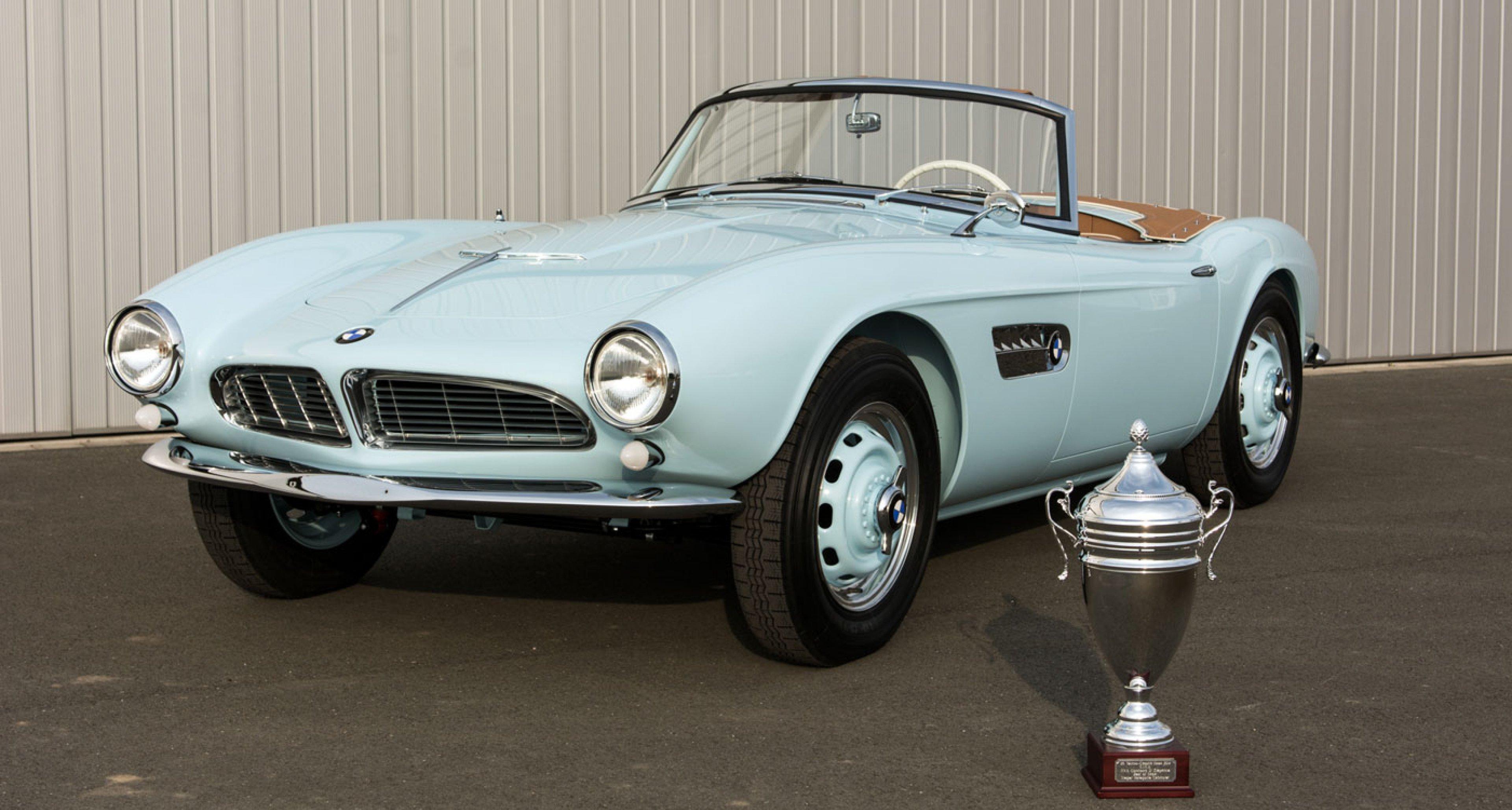 """1957 BMW 507 Serie I: Best of Show in der Kategorie """"Cabriolet"""" bei der Techno Classica 2014"""