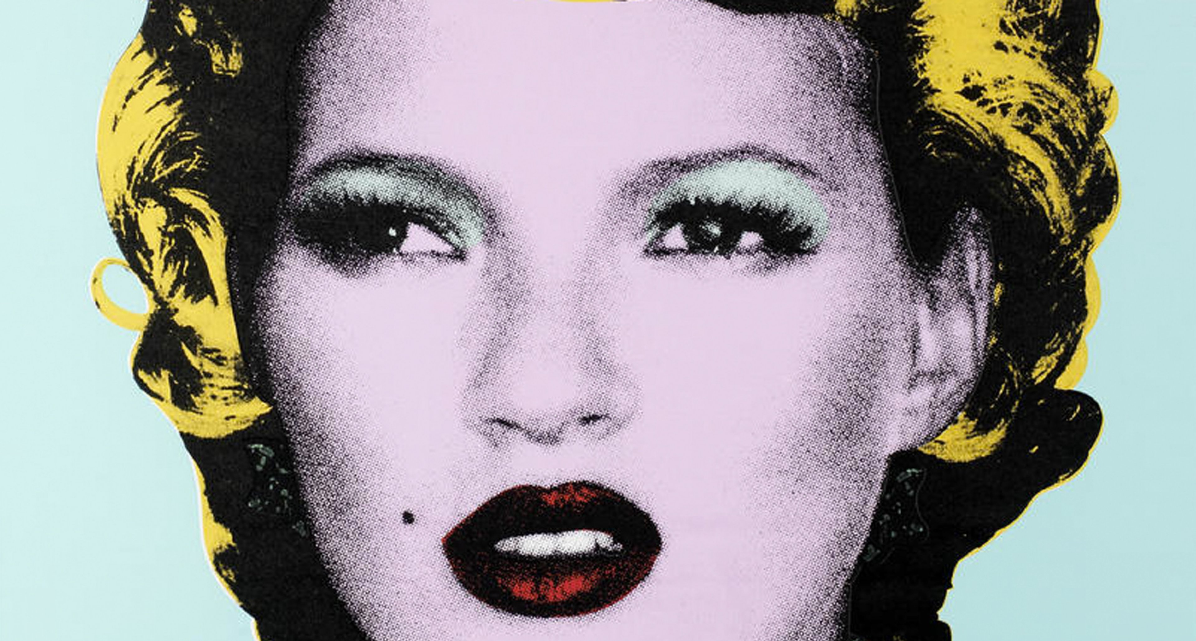 Banksy 'Kate Moss' (2005), estimate £25,000 - 35,000.