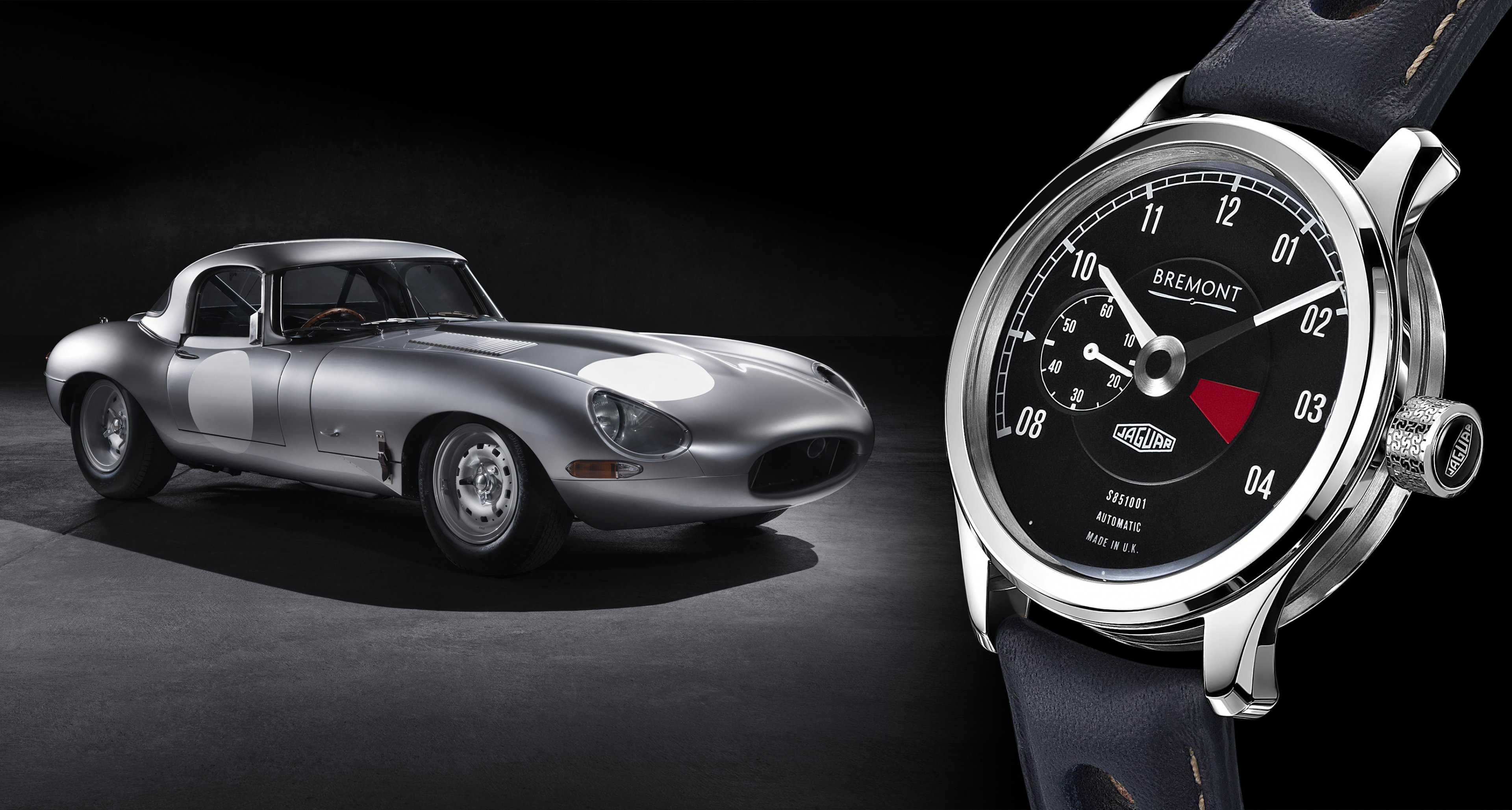 A watch dedicated to the rebirth of a racing legend - the Bremont Lightweight E-Type