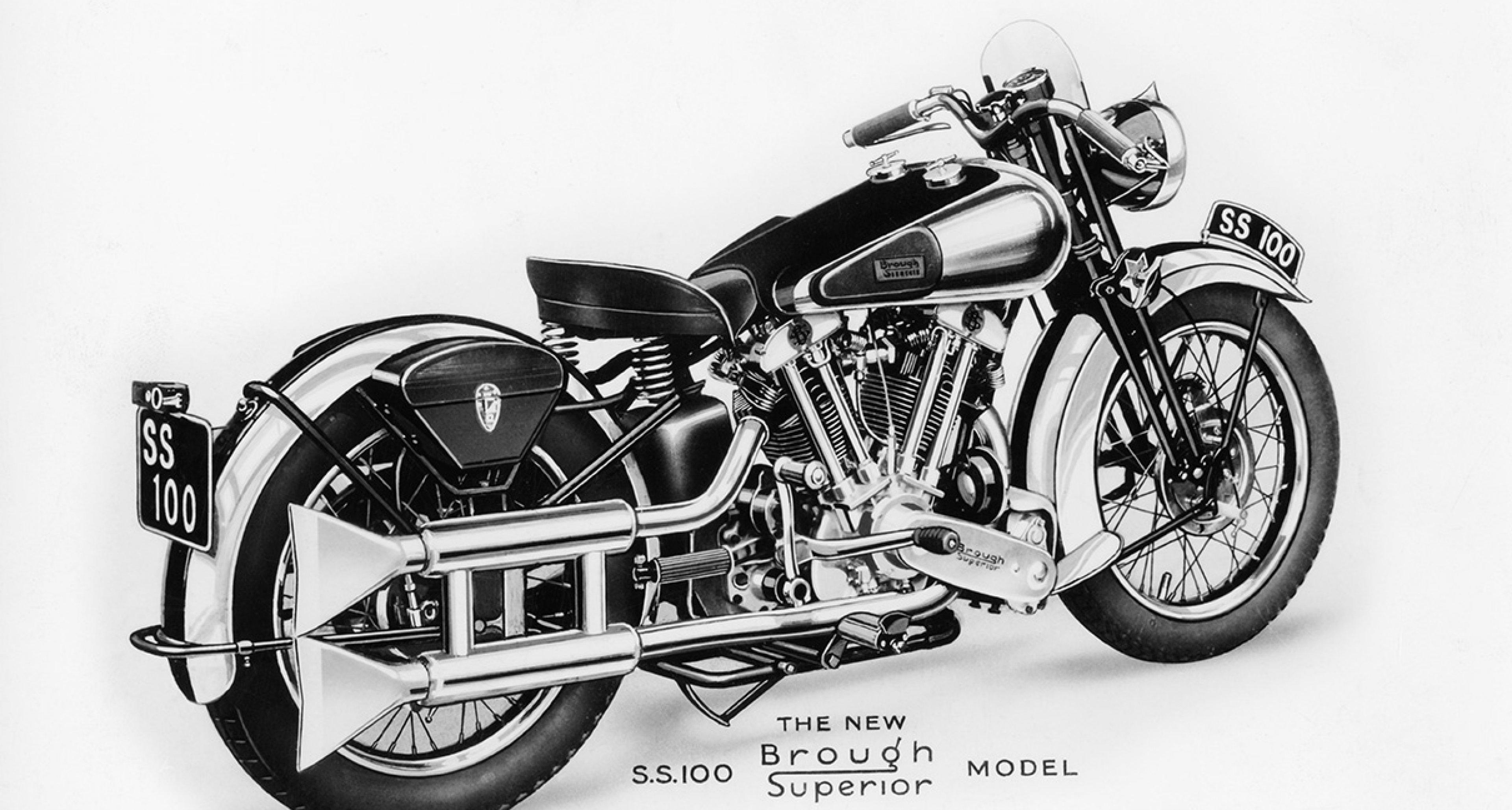 The original Brough Superior SS100