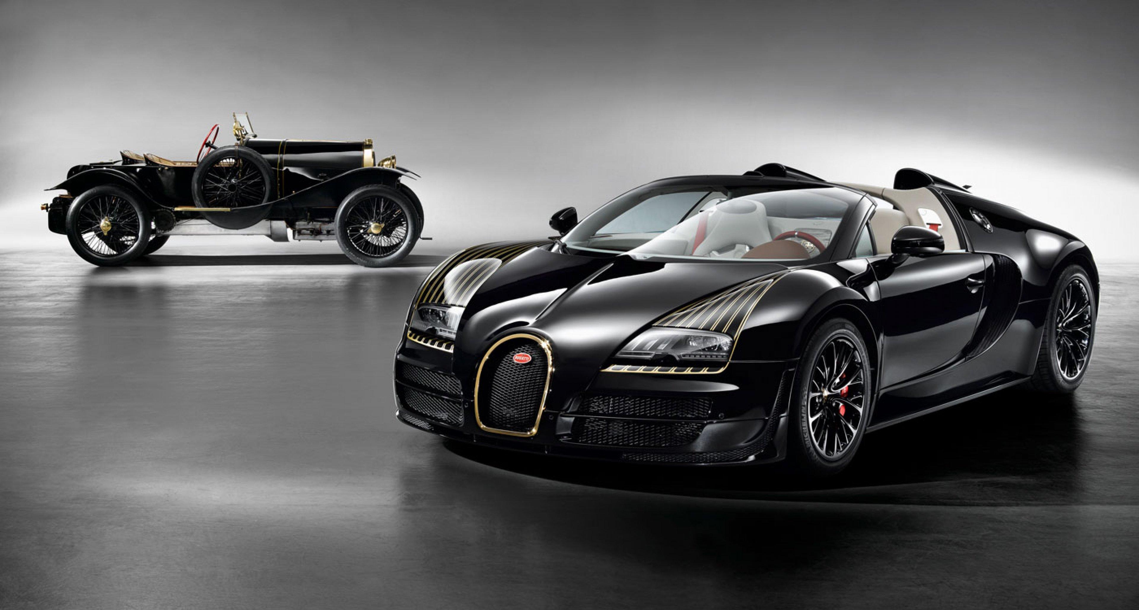 "Bugatti Vitesse Legende ""Black Bess"" and Bugatti Typ 18 ""Black Bess"""