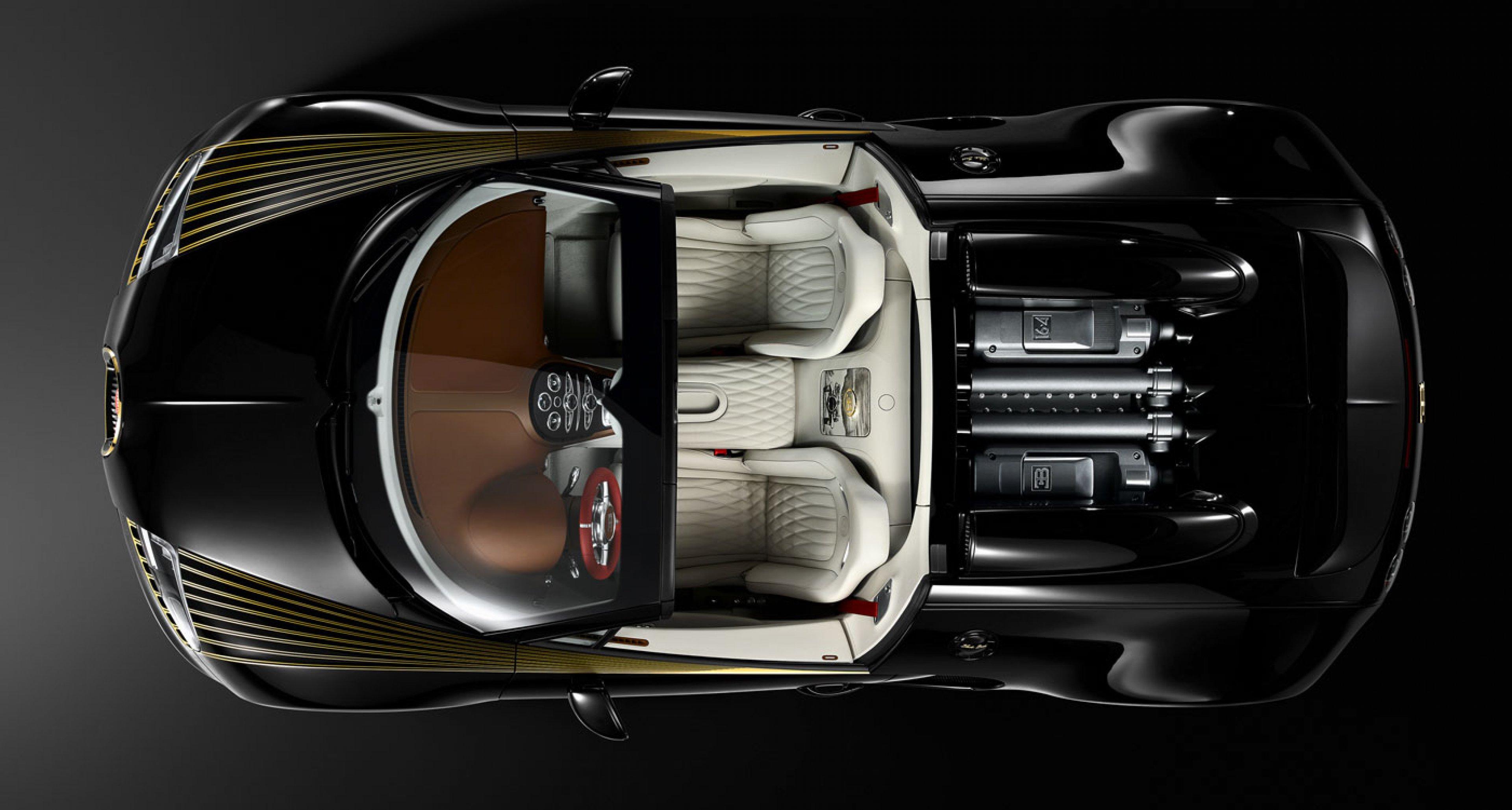 "Bugatti Veyron 16.4 Grand Sport Vitesse ""Black Bess"" - Les Légendes de Bugatti"