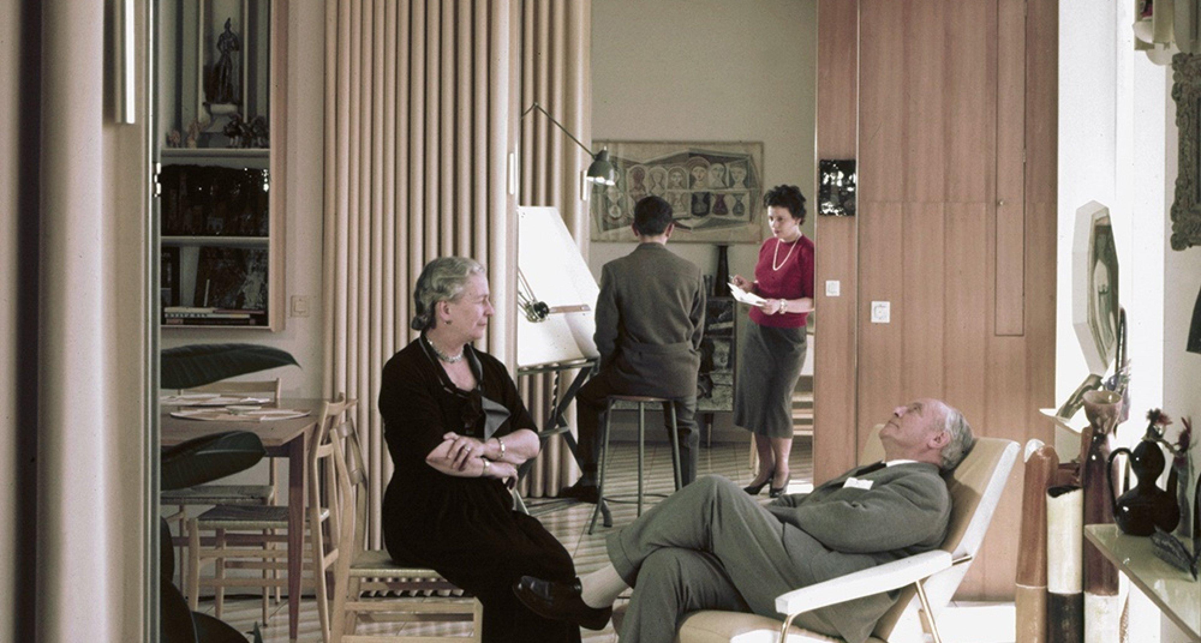 Gio Ponti and Giulia Ponti, Via Dezza, 1957 © Gio Ponti Archives