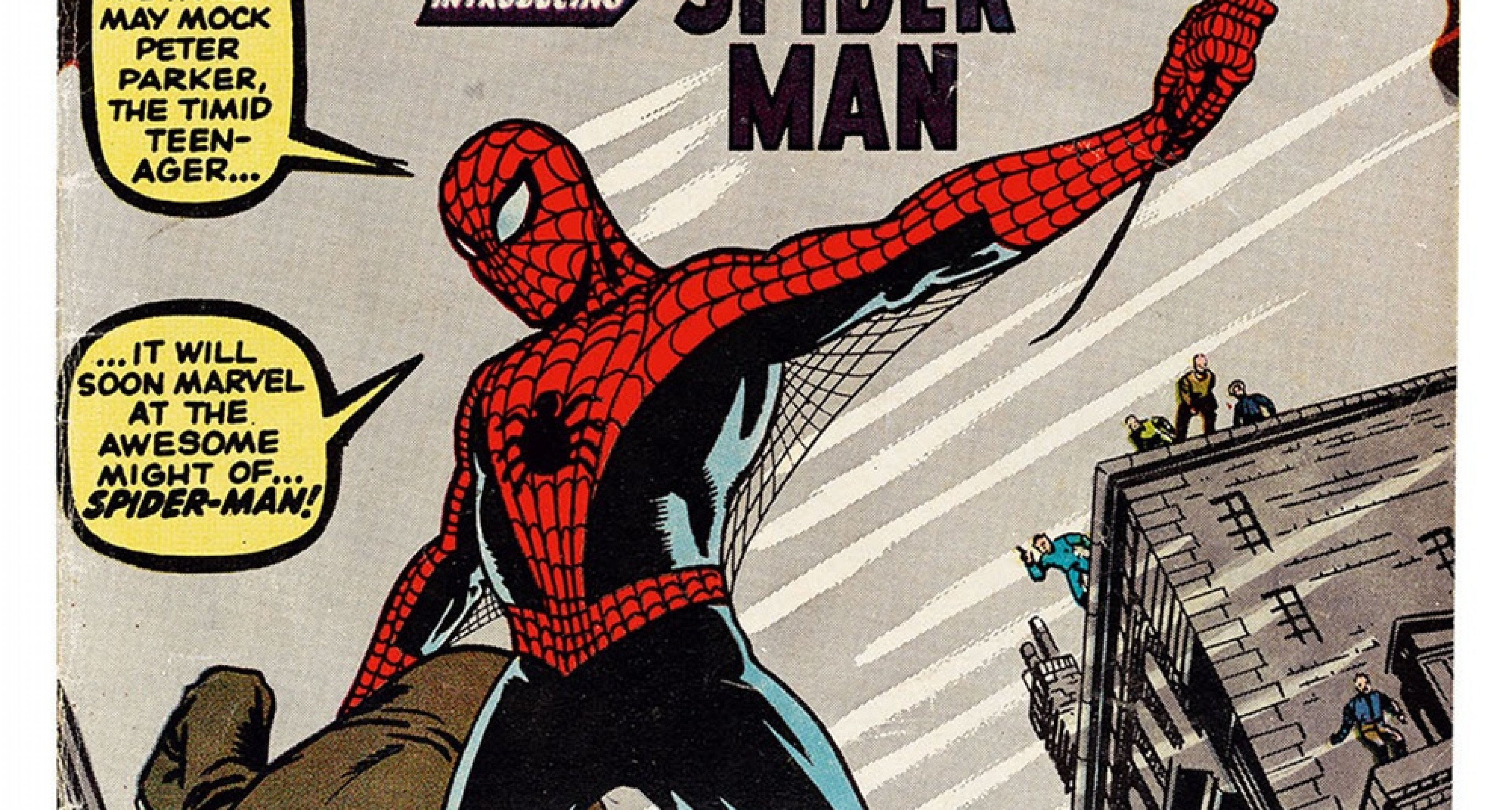 The cover of Amazing Fantasy No. 15 (August 1962) — featuring as iconic an image of Spider- Man as there may ever be — has been paid homage countless times in the several decades since its publication. / TM & © 2018 Marvel Entertainment, LLC
