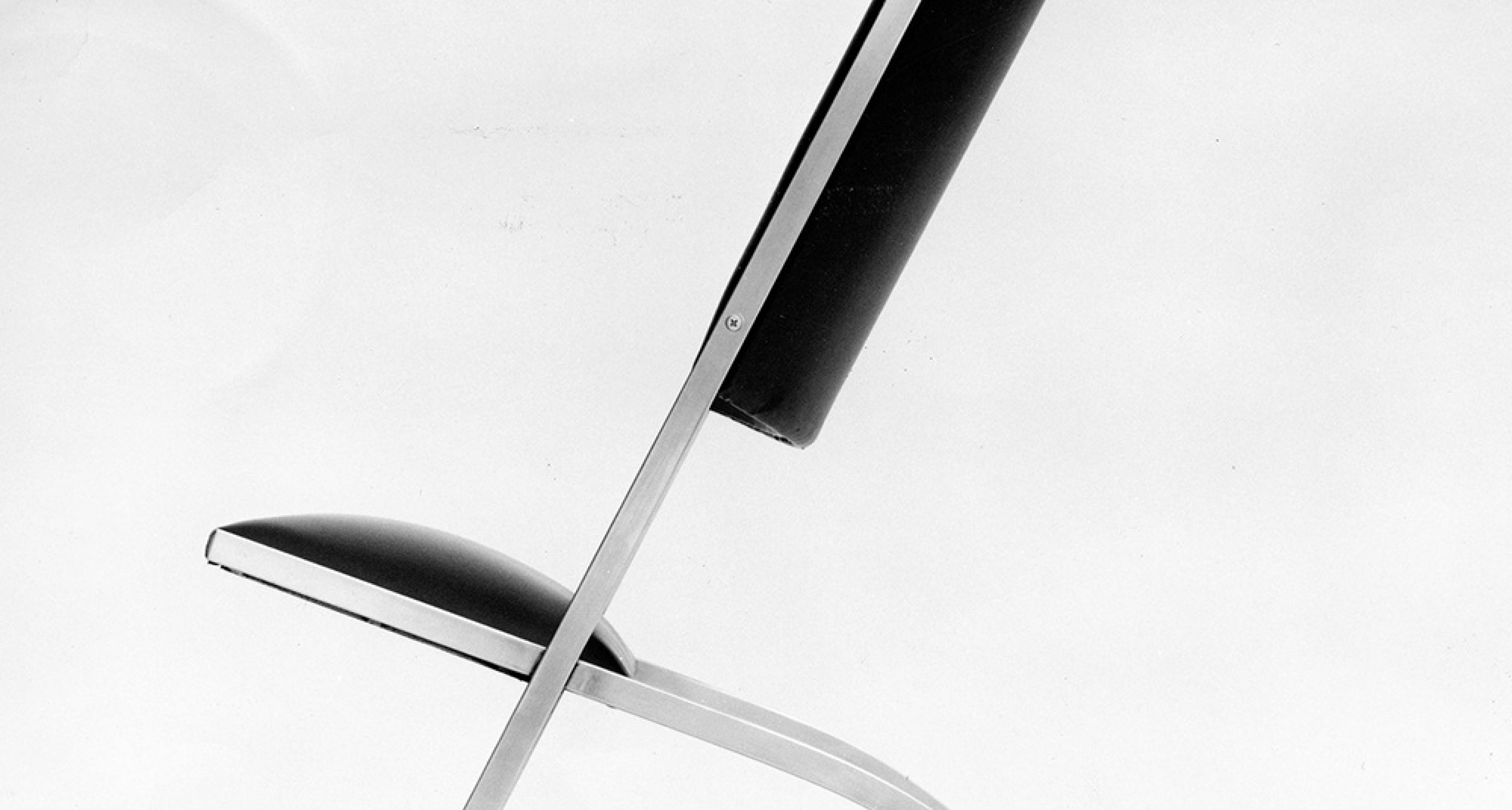 Gabriela chair — 1971 steel, leather Milan private collection © Gio Ponti Archives, Milan