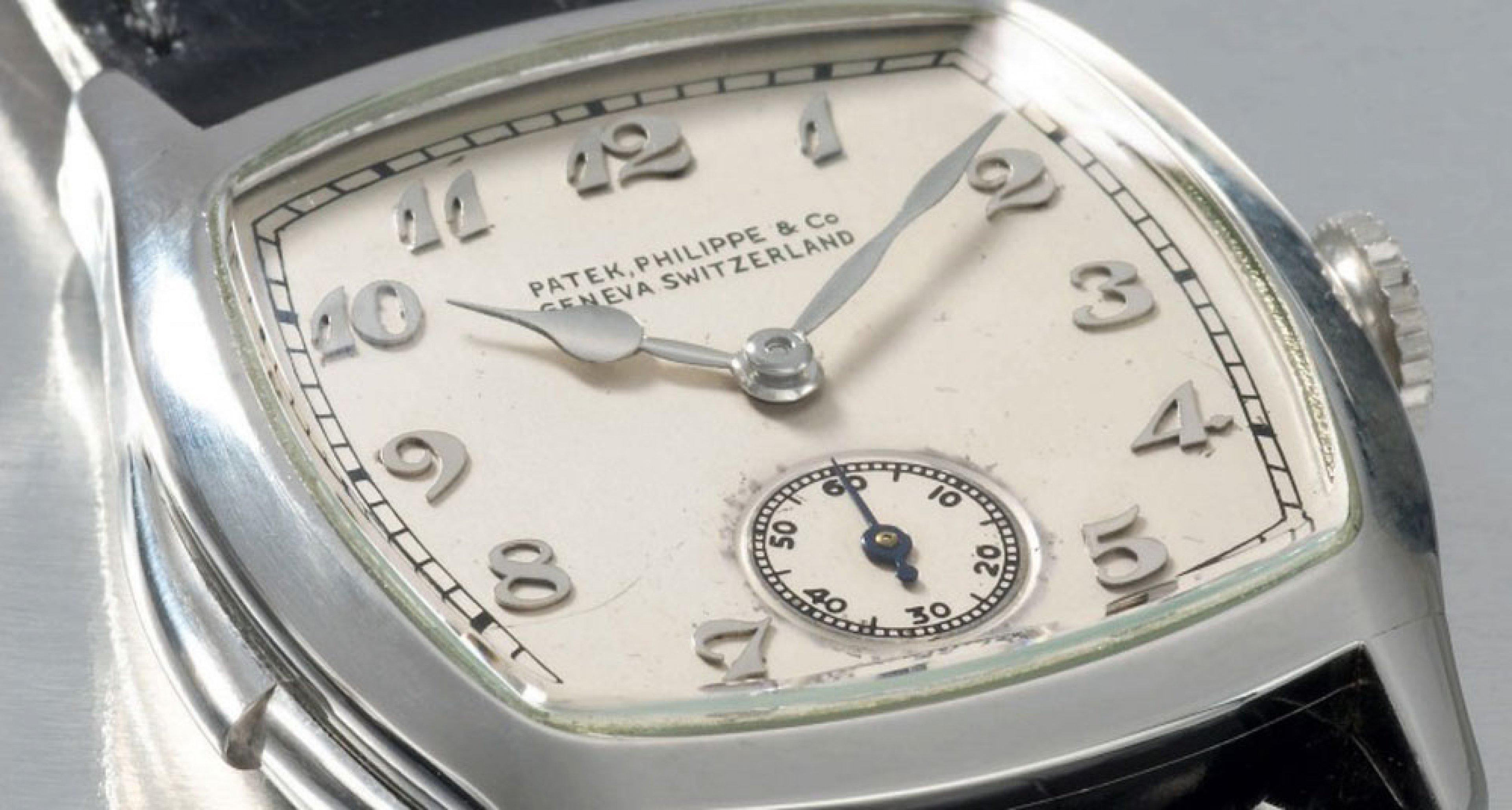 Lot 101 the Patek complication watch for Henry Graves jr.