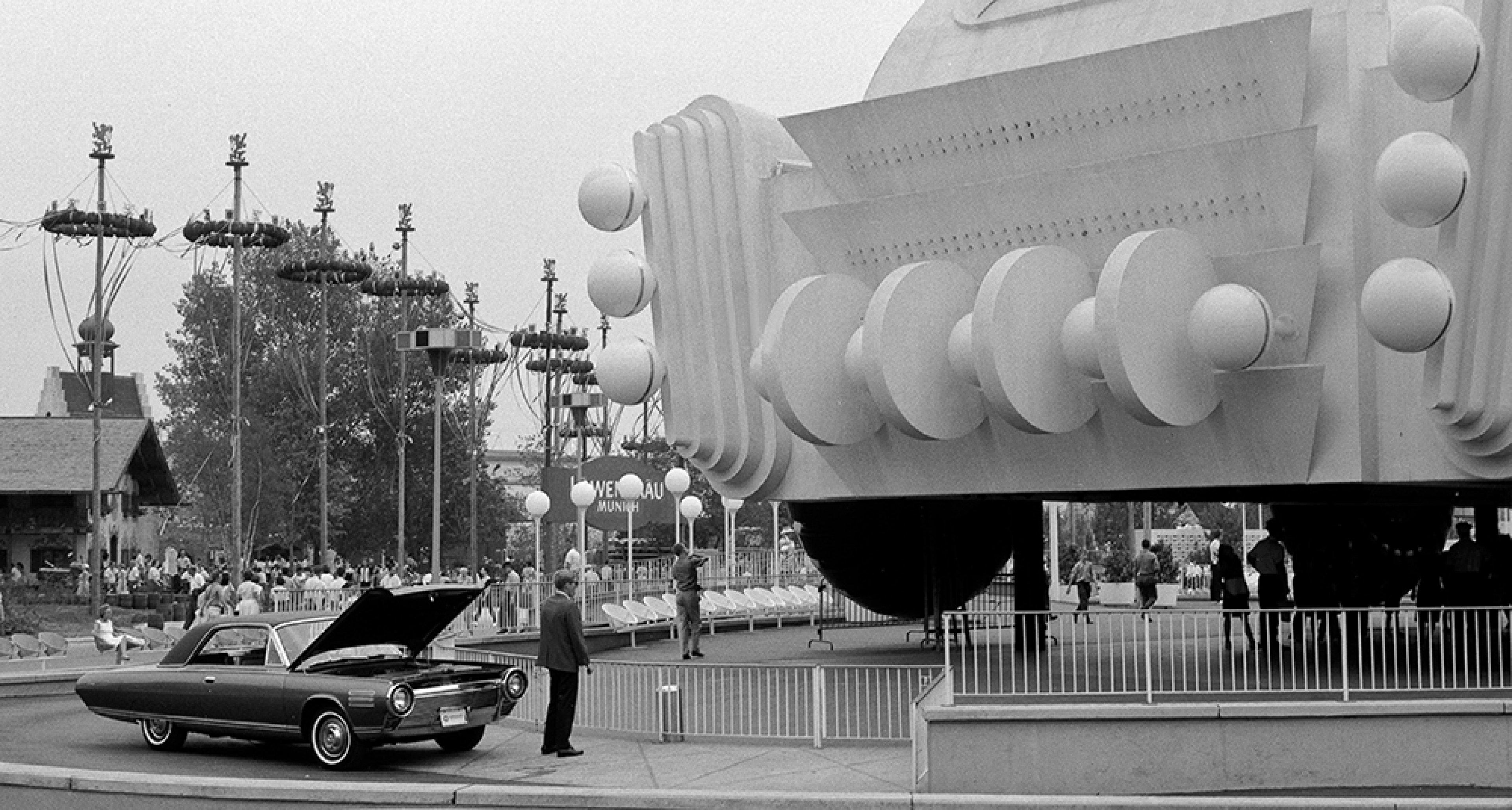 Chrysler Turbine at the 1964 New York World's Fair.