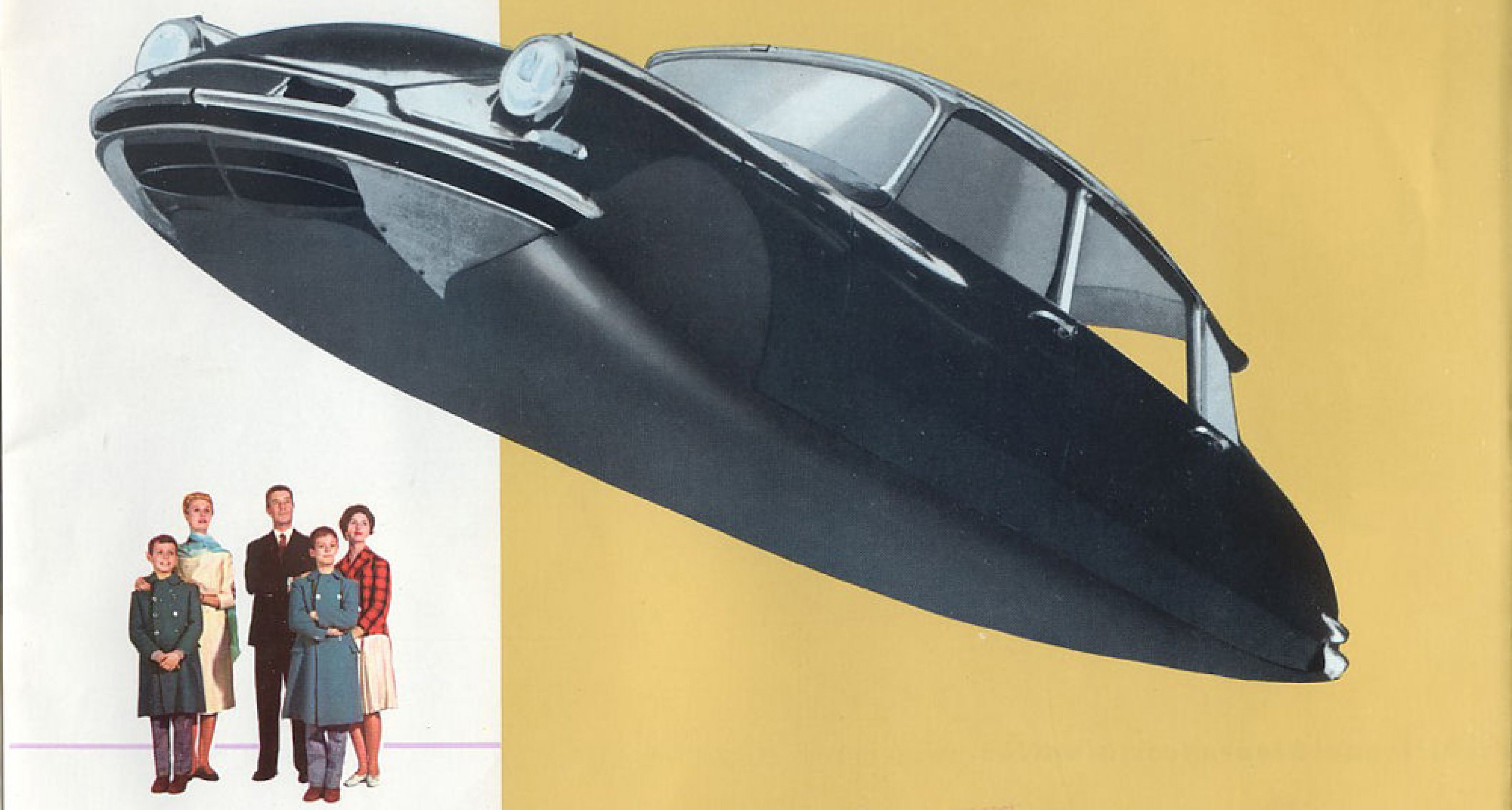 From Citroën's promotional material for the DS, promoting its futuristic looks
