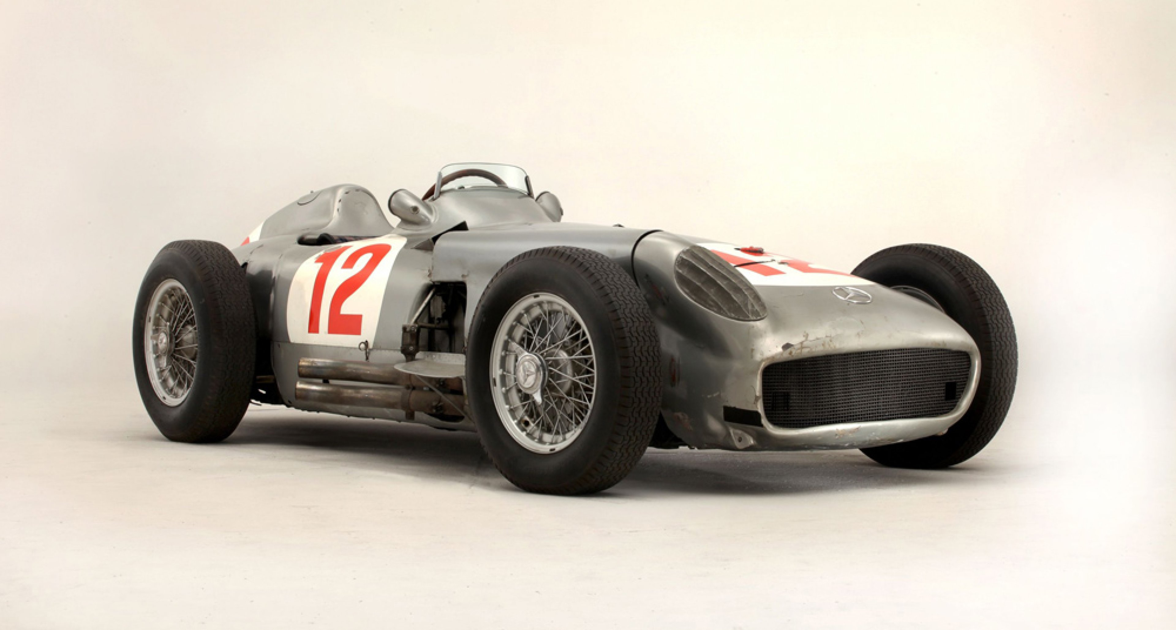 1954 Mercedes-Benz W196, sold in July 2013 for $ 29,967,886.