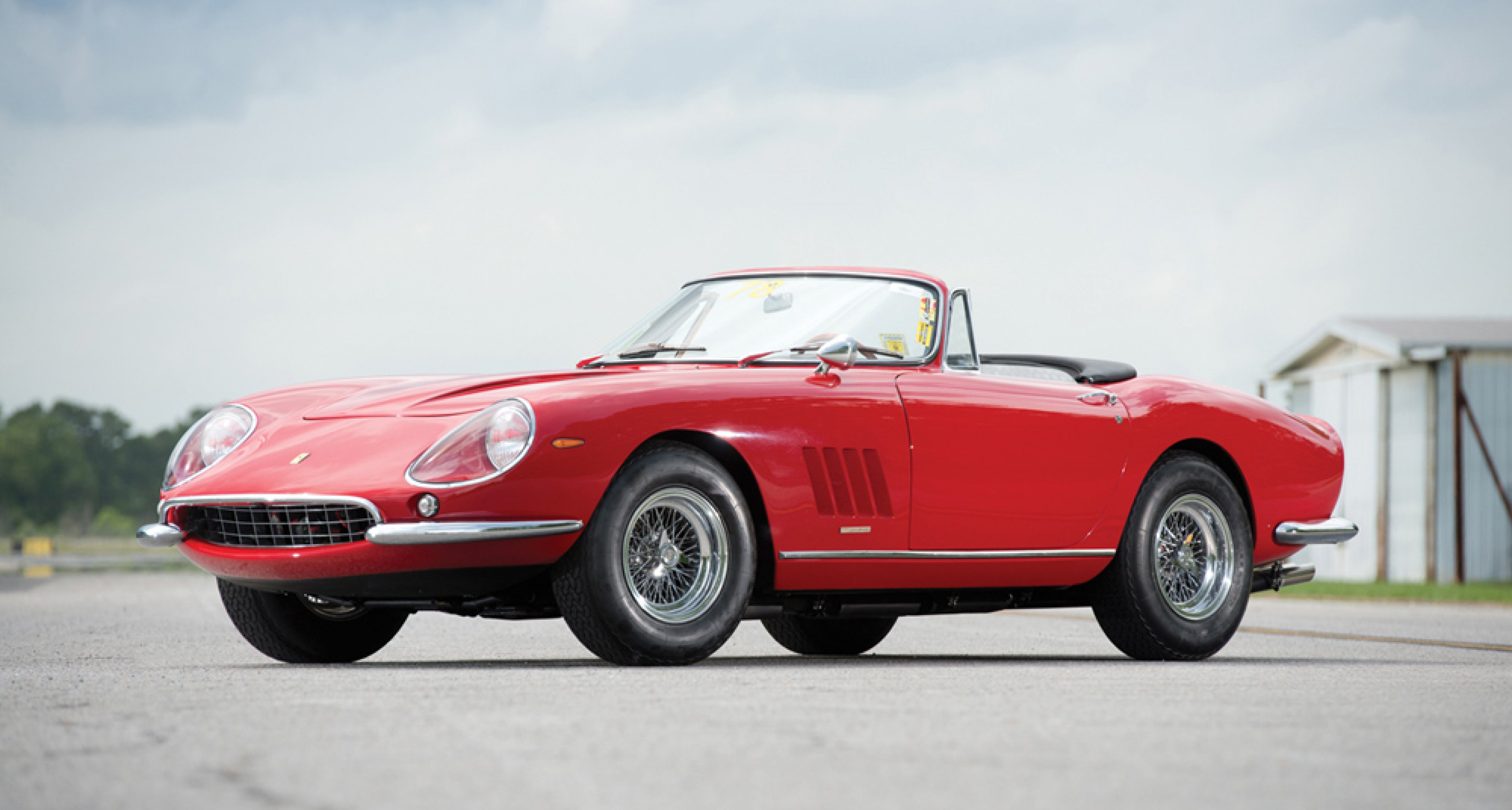 1967 Ferrari 275 GTB/4*S NART Spider, sold in August 2013 by RM Auctions for $ 27,841,786.