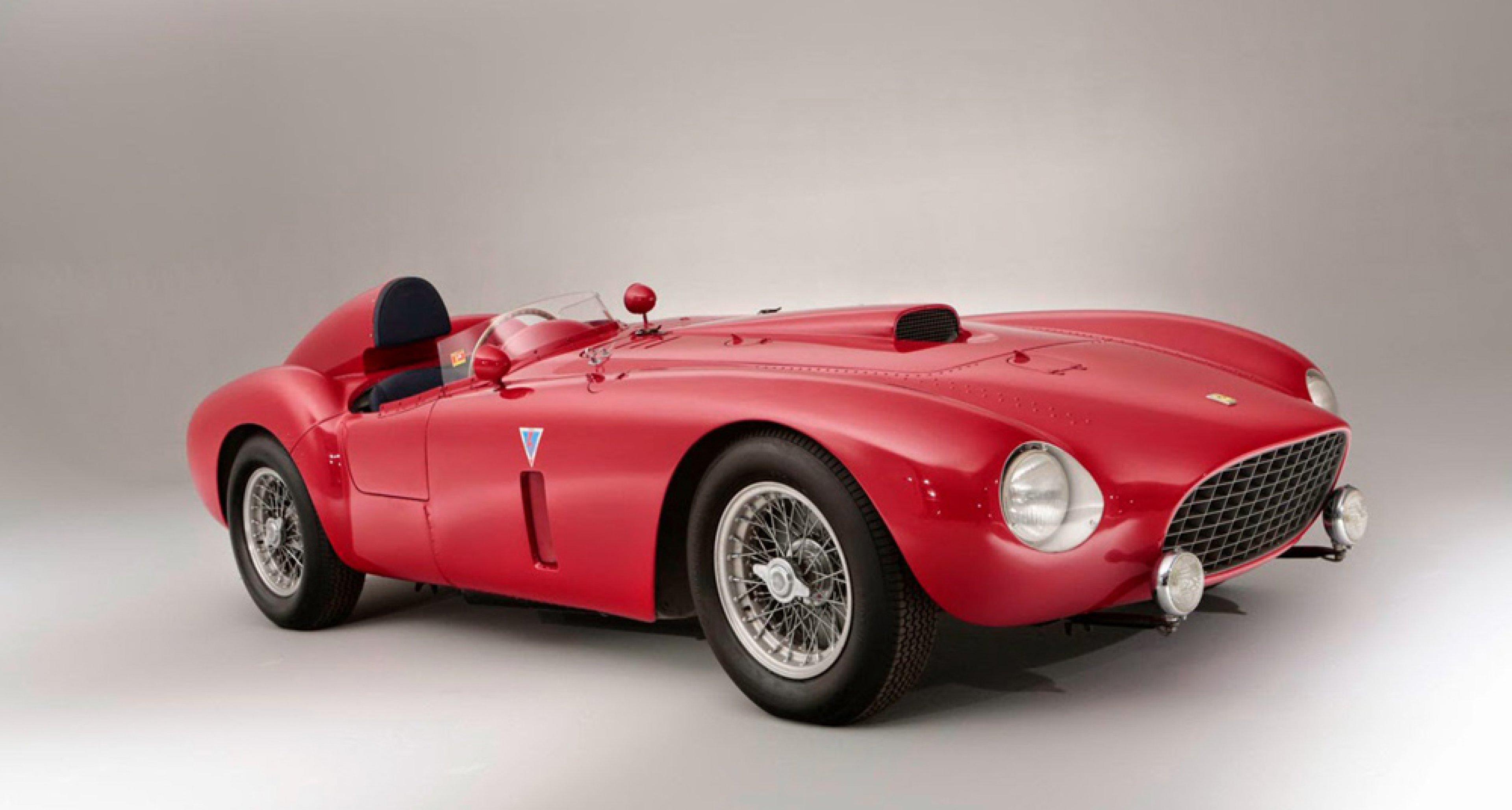1954 Ferrari 375-Plus Spider Competizione, sold by Bonhams in June 2014 for $ 18,400,177.