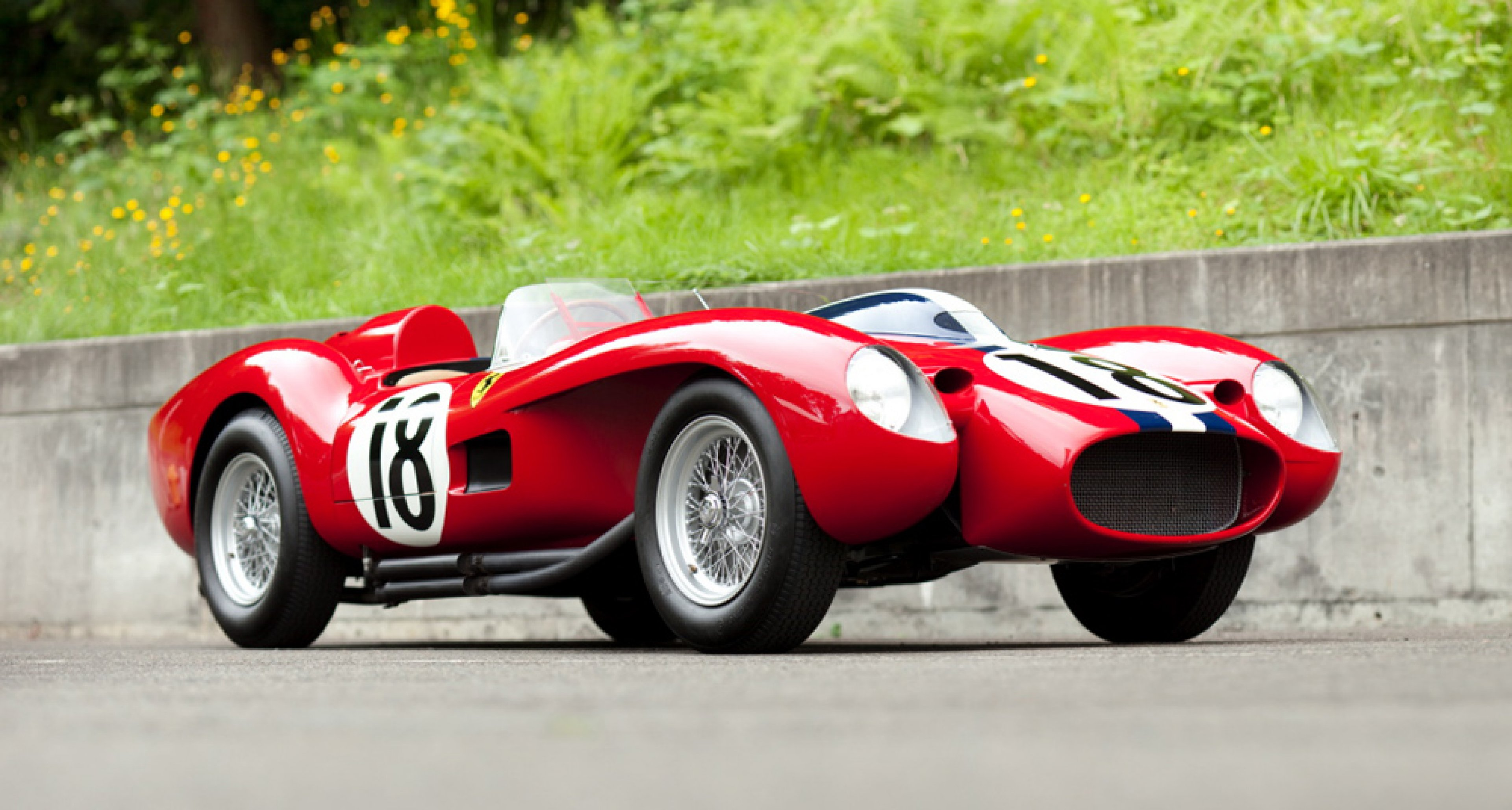1957 Ferrari 250 Testa Rossa, sold by Gooding & Company in August 2011 for $ 17,182,830.