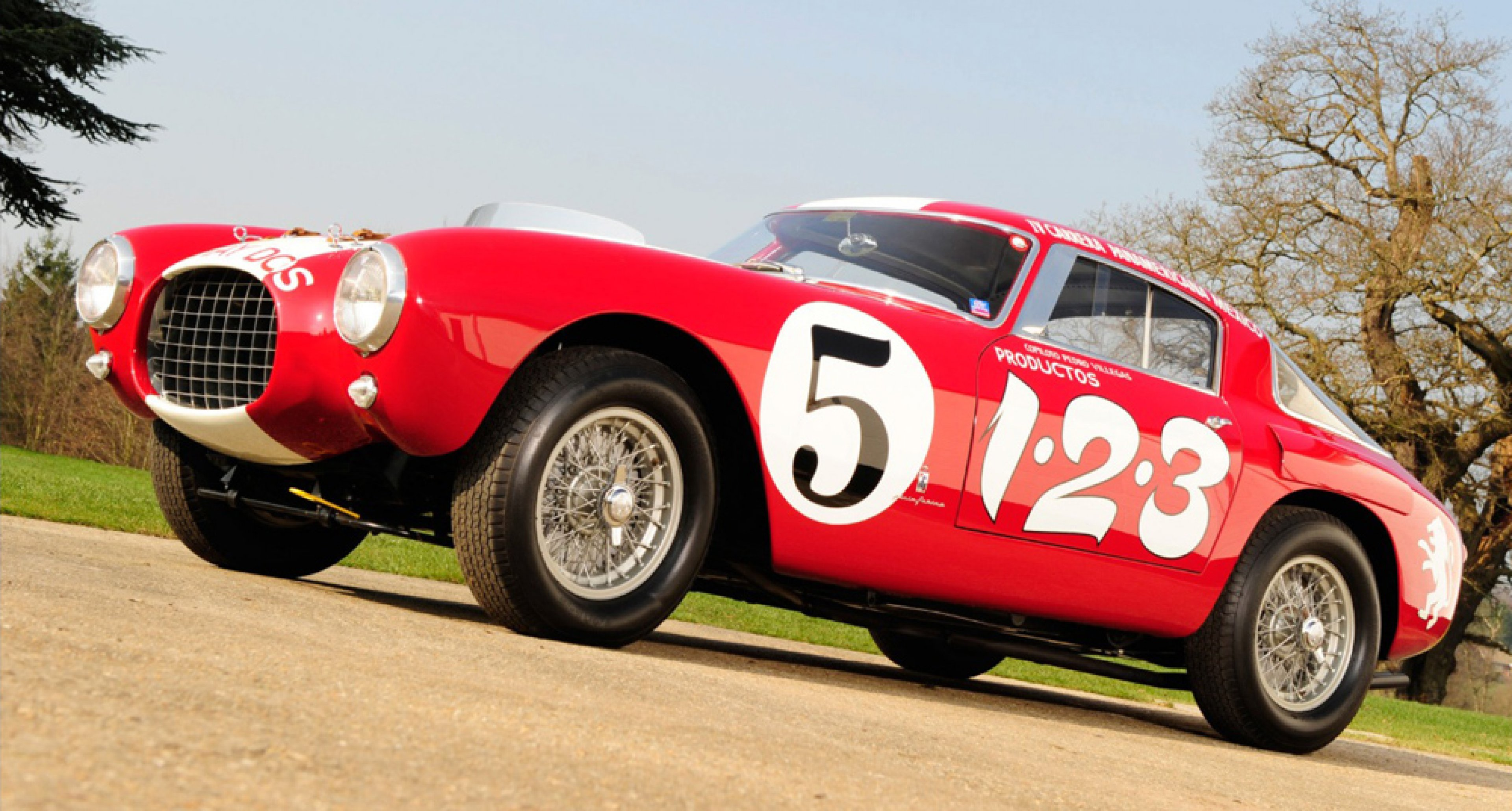 1953 Ferrari 340/375 MM Berlinetta 'Competizione', sold by RM Auctions in May 2013 for $ 12,972,045.
