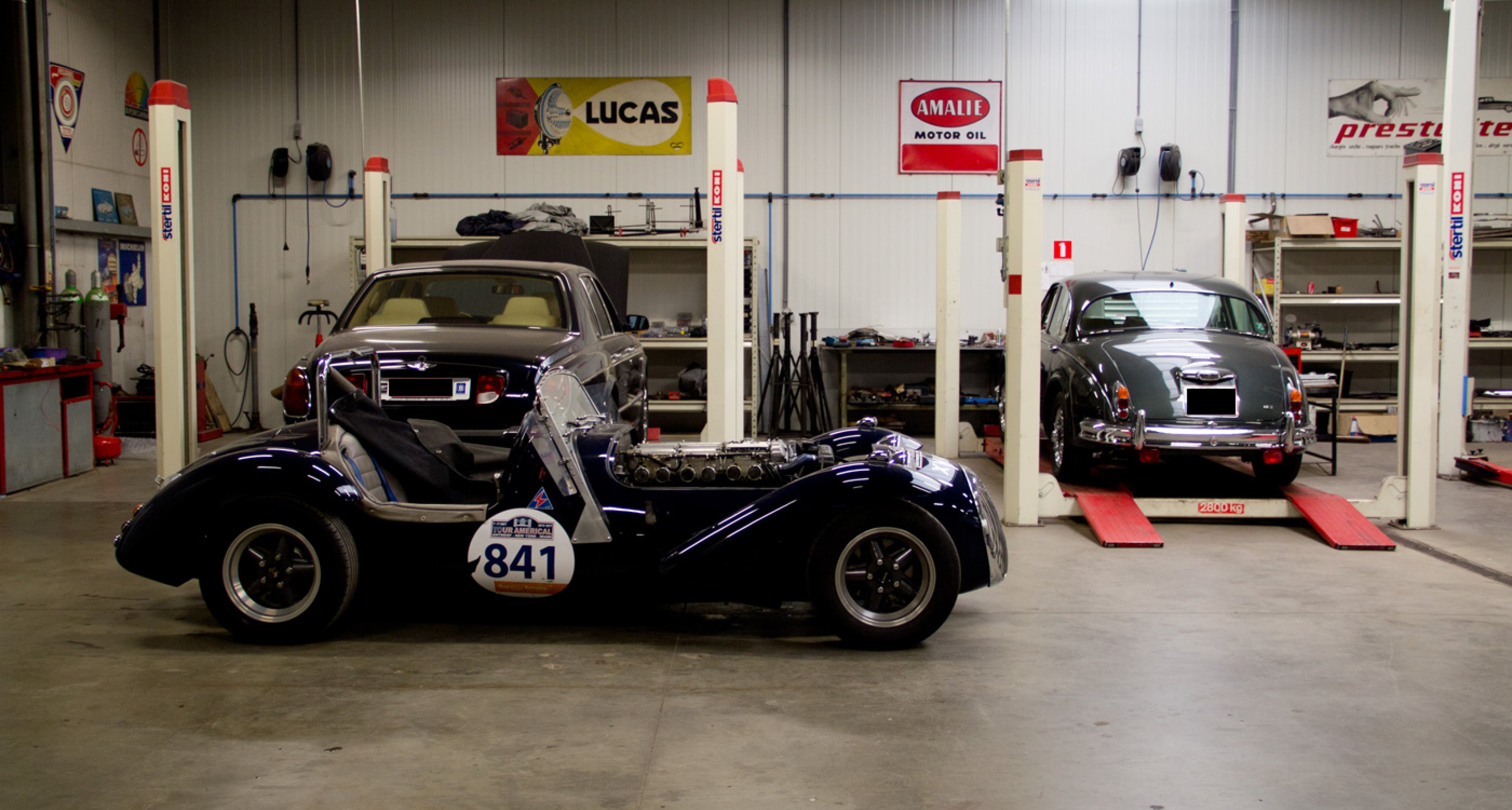 Classic Car Service Belgium S First Address For Frame Off