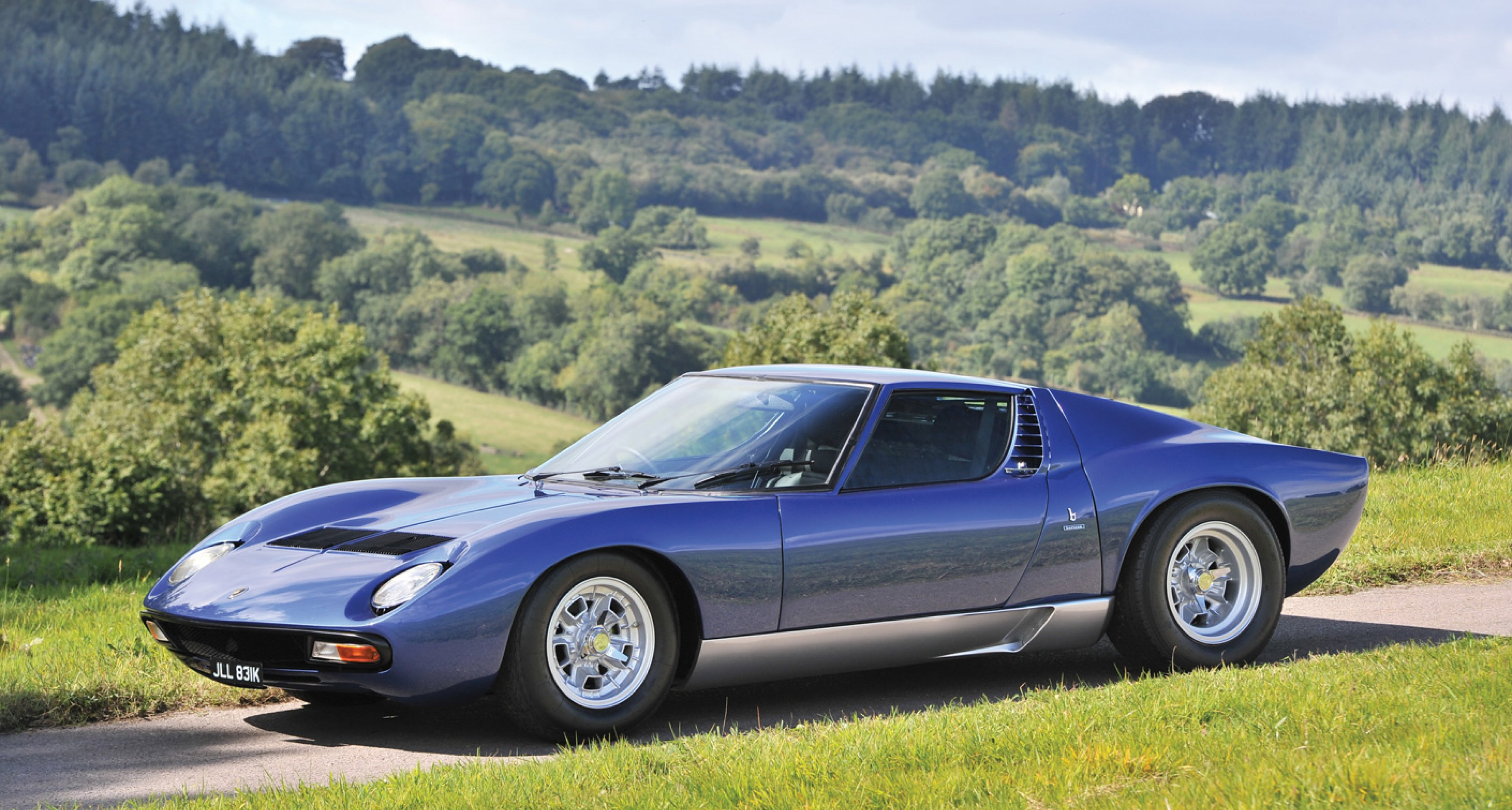 Lamborghini Miura (© Tim Scott for RM Auctions)