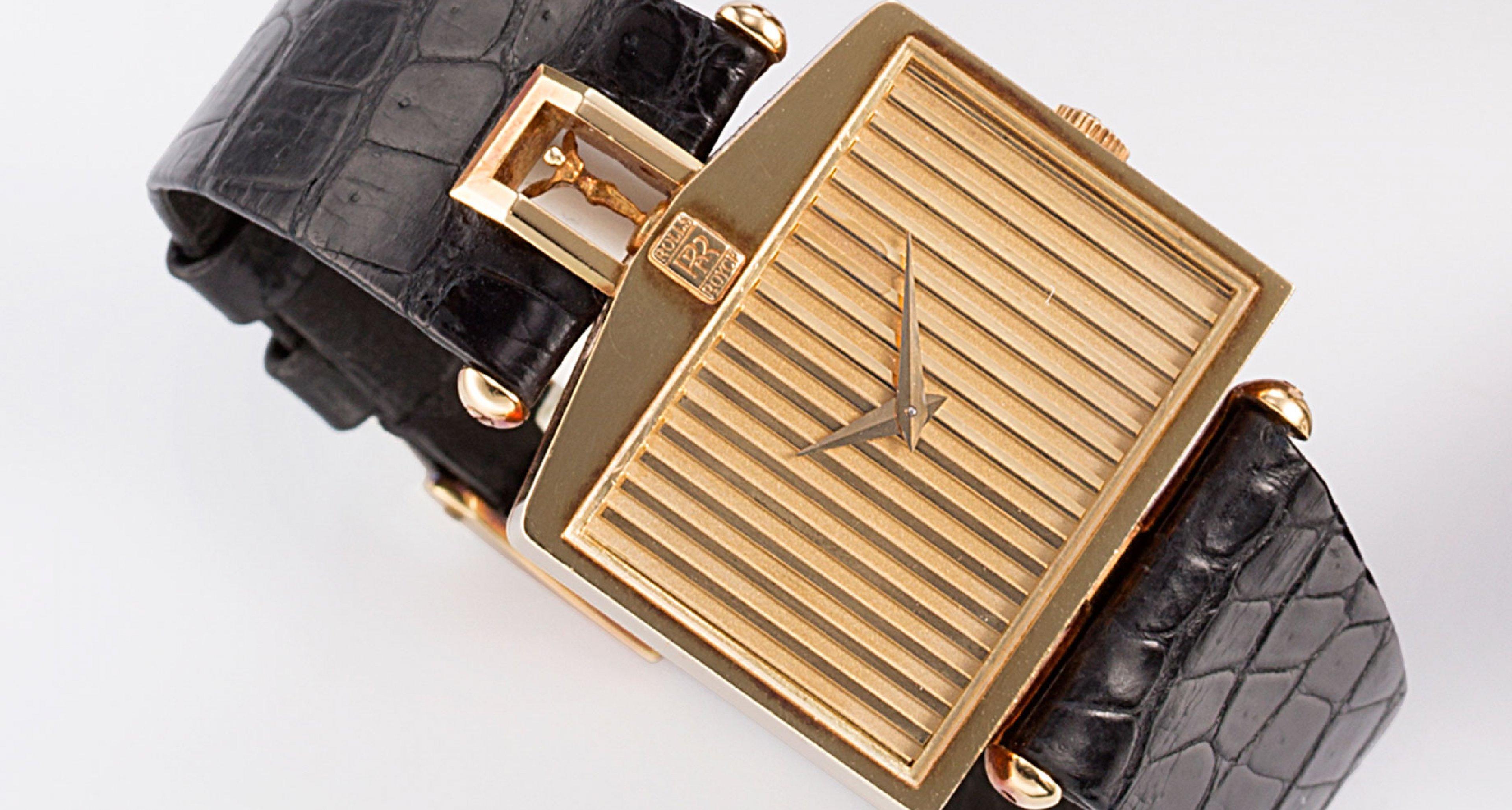 The Corum golden watch inspired by Rolls-Royce