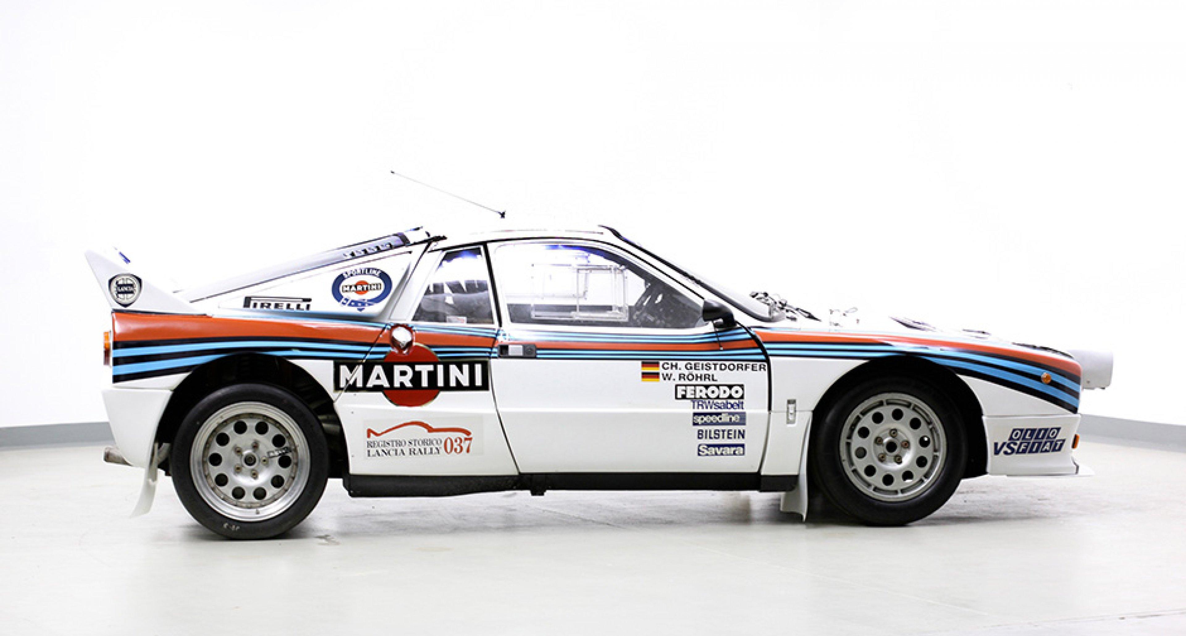 Monte Carlo Sieger Lancia 037 Ist Kronjuwel Der Coys