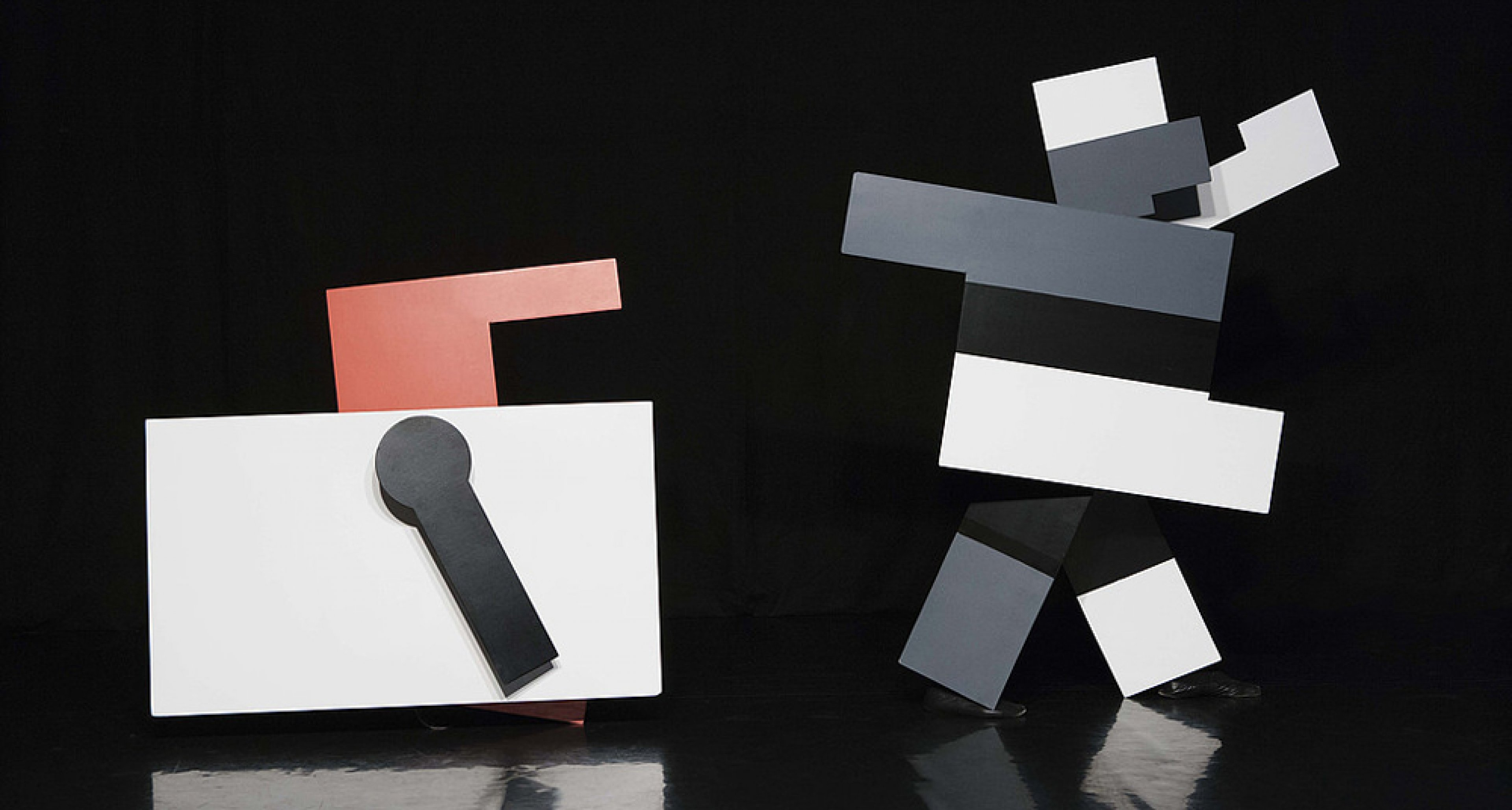 Kurt Schmidt mit F.W. Bogler und G. Teltscher »Das mechanische Ballett« (1923) Neuinszenierung  Theater der Klänge, 2009. Foto: O. Eltinger