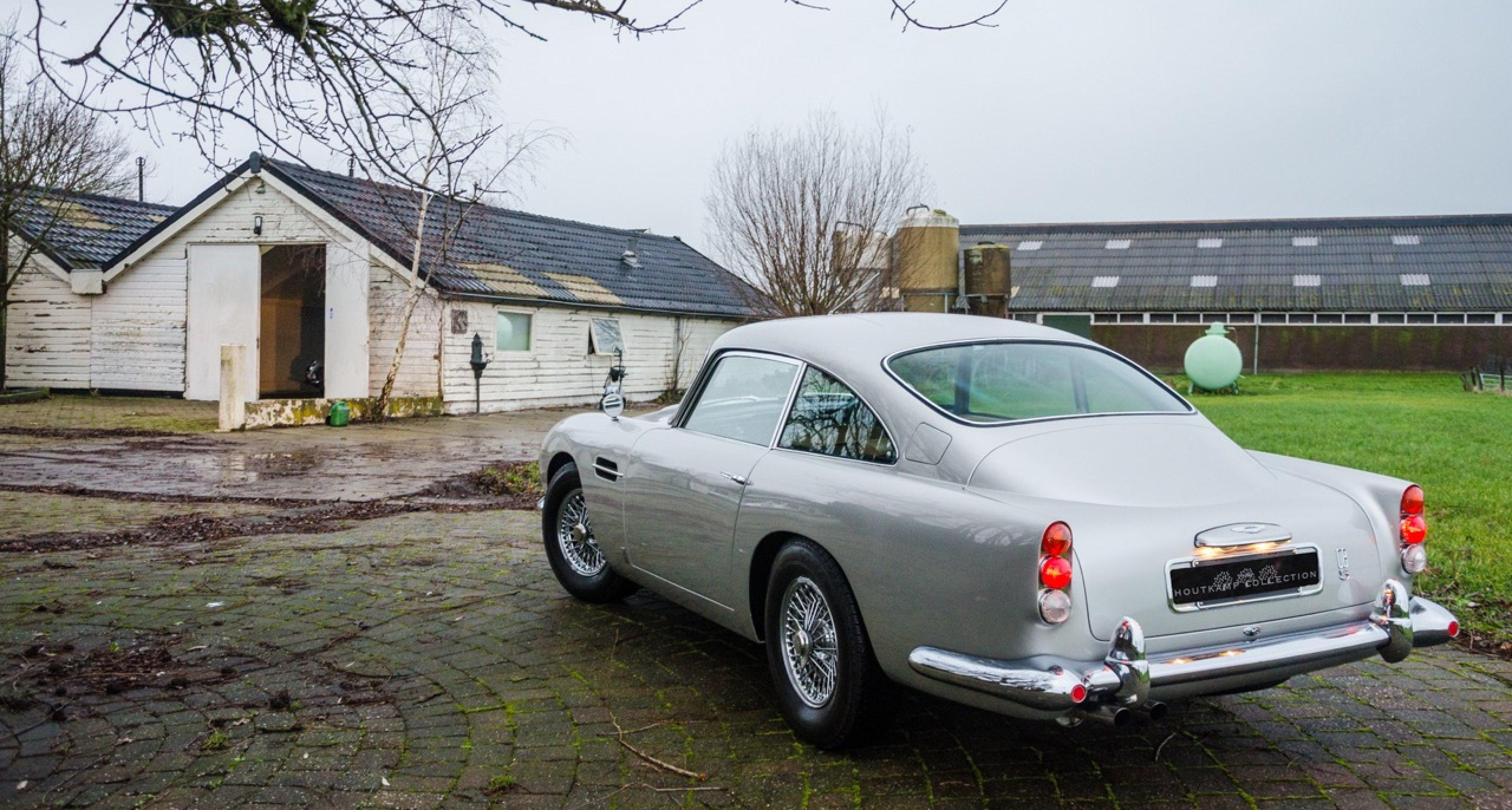 Aston Martin Db4 Db5 Und Db6 Dreimal Silber Auf Einen Streich Classic Driver Magazine