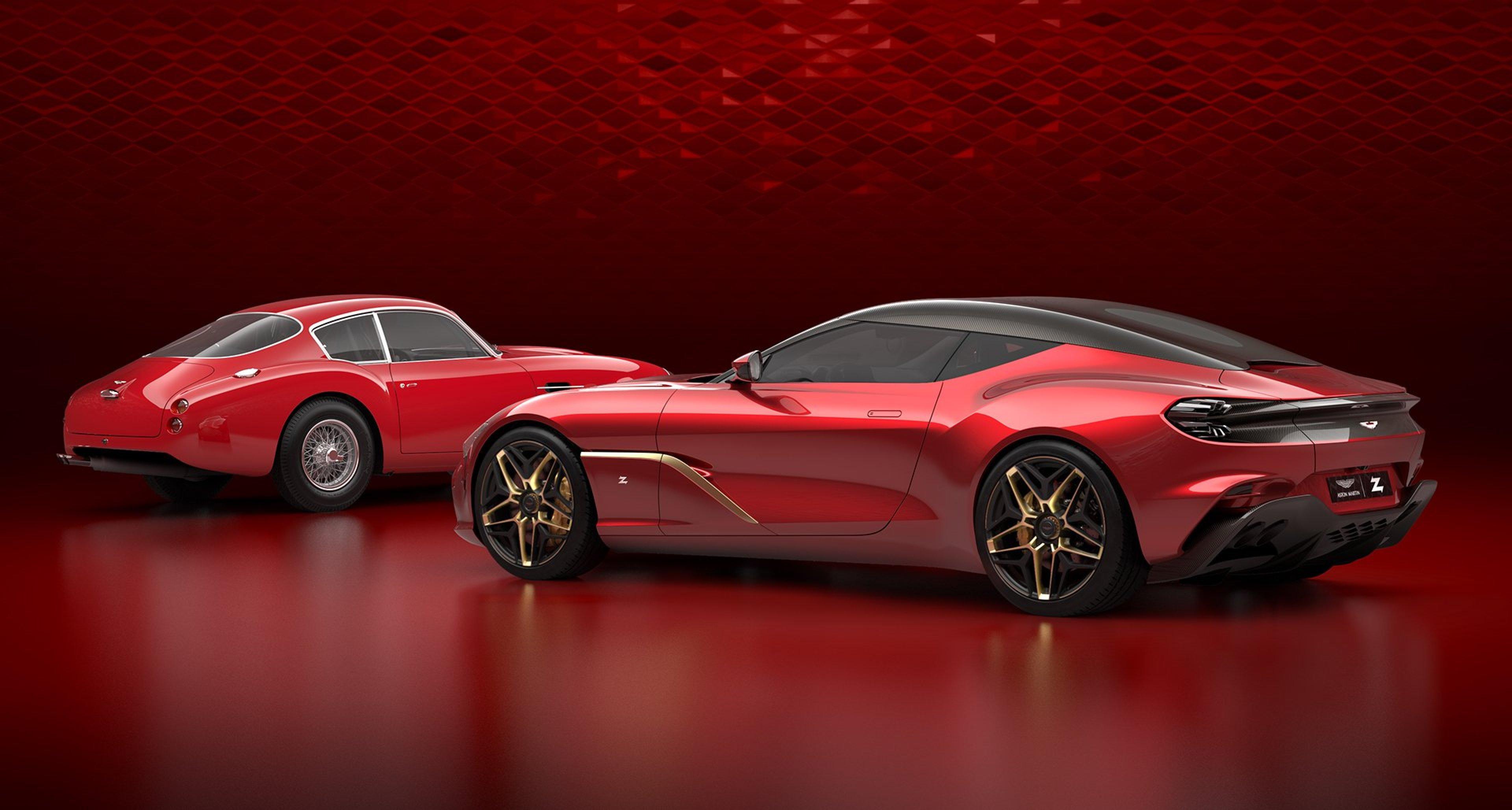 Aston Martin Enthüllt Wie Der Dbs Gt Zagato Aussehen Wird Classic Driver Magazine