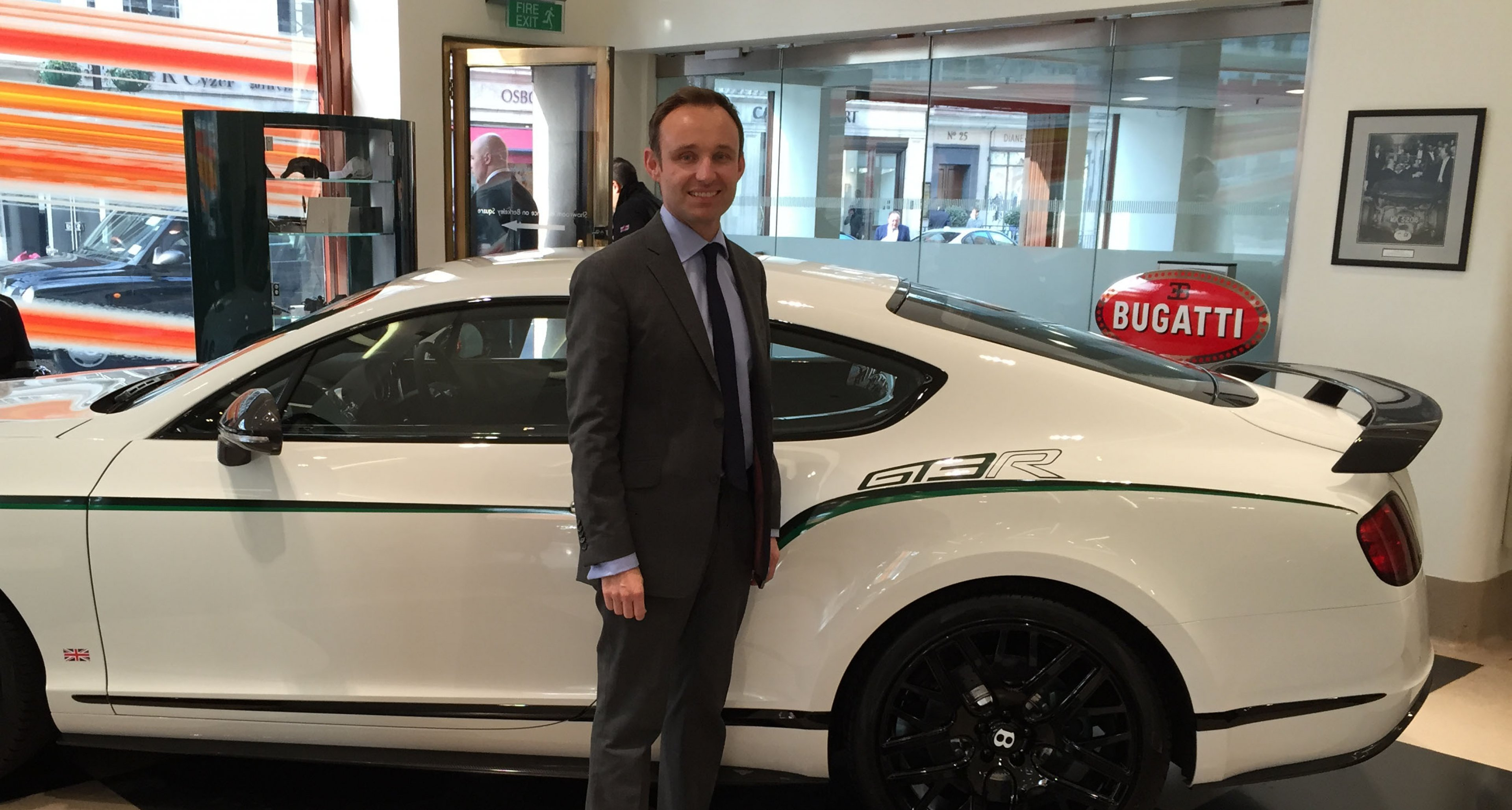 Derek Bennett of Jack Barclay Bentley, London