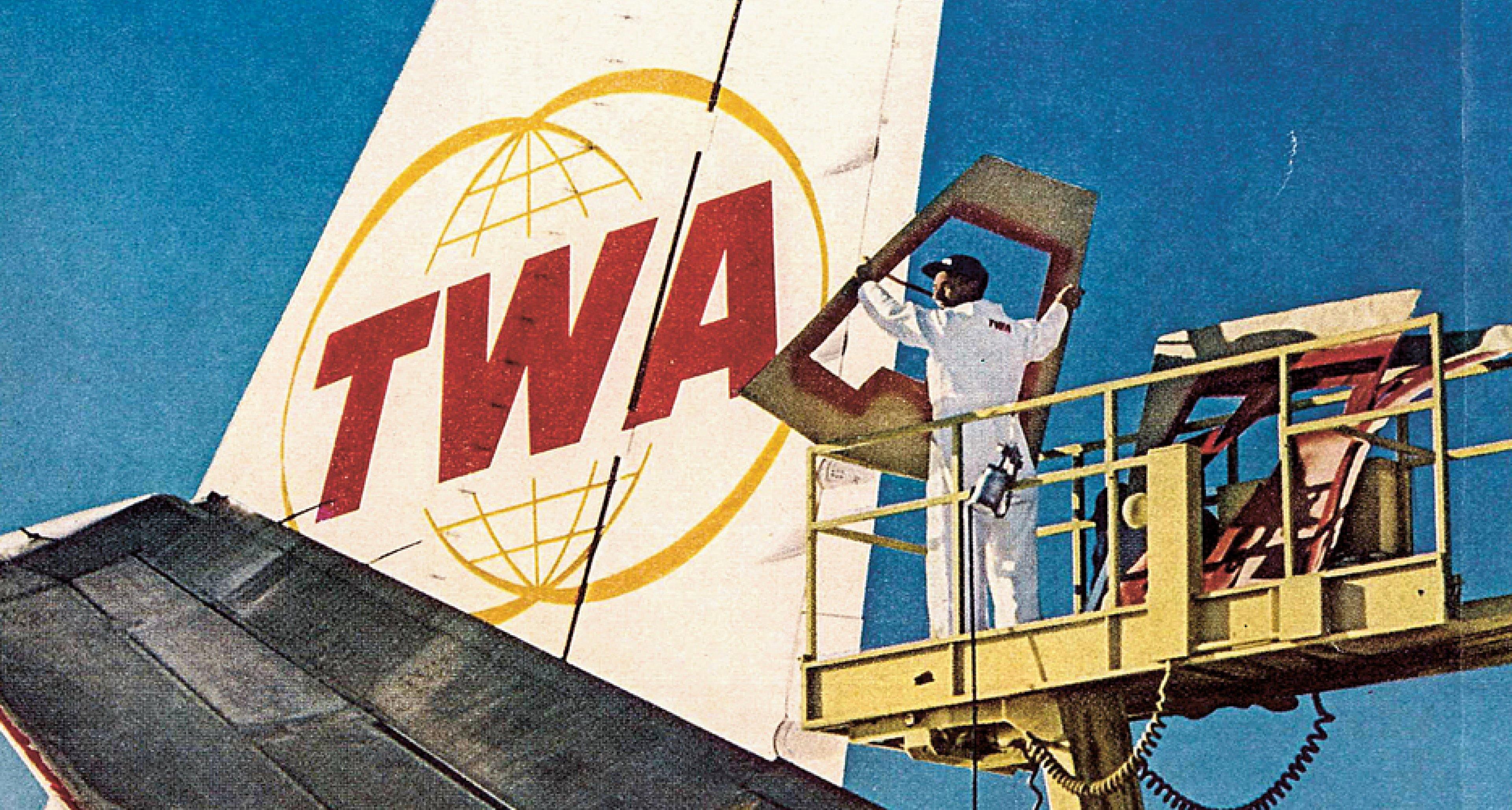 Kernstück von Raymond Loewys Design ist ein neues Firmenlogo, wie diese Werbung 1963 veranschaulicht. © Illustrator ubk. / Sammlung Kornel Ringli