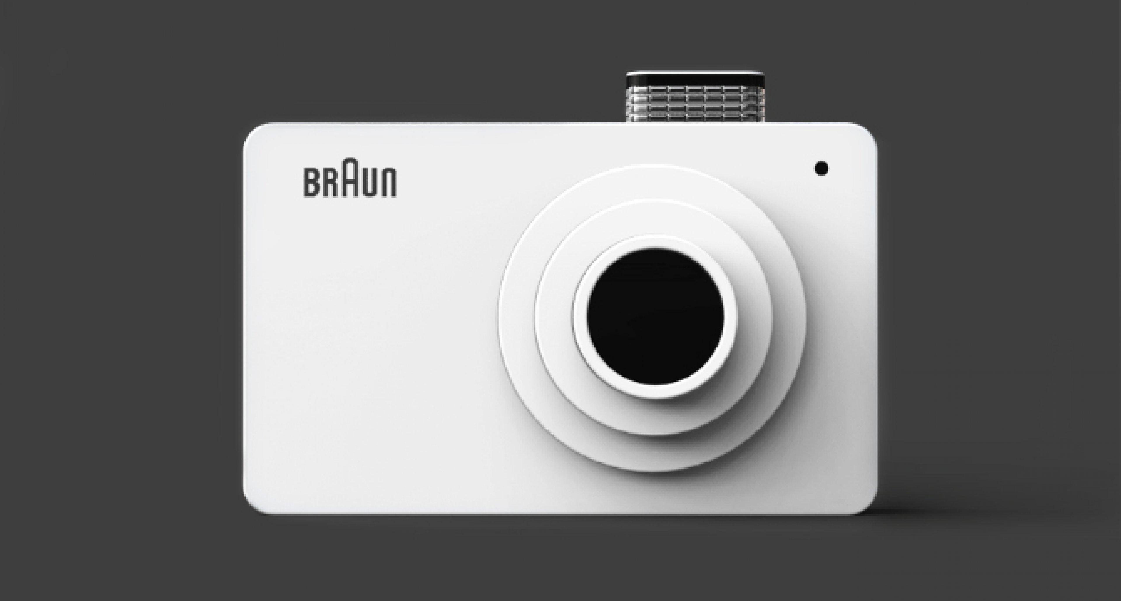 Konzept Kamera Aus Korea Verbeugung Vor Dieter Rams