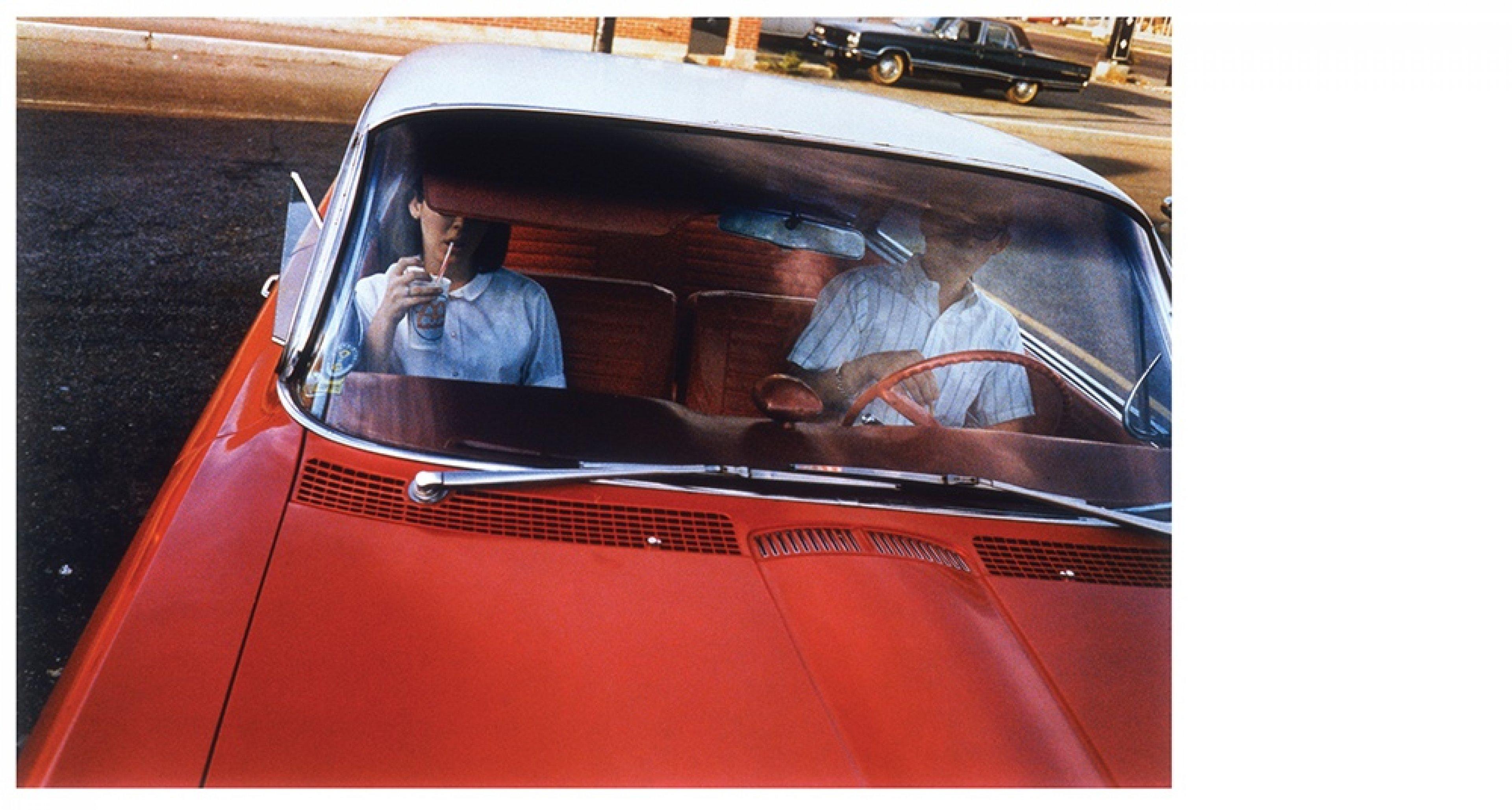 William Eggleston, Los Alamos series, 1965–1968 Dye-transfer print, 40.5 × 50.5 cm Eggleston Artistic Trust, courtesy David Zwirner, New York/London © Eggleston Artistic Trust. Courtesy David Zwirner, New York/London