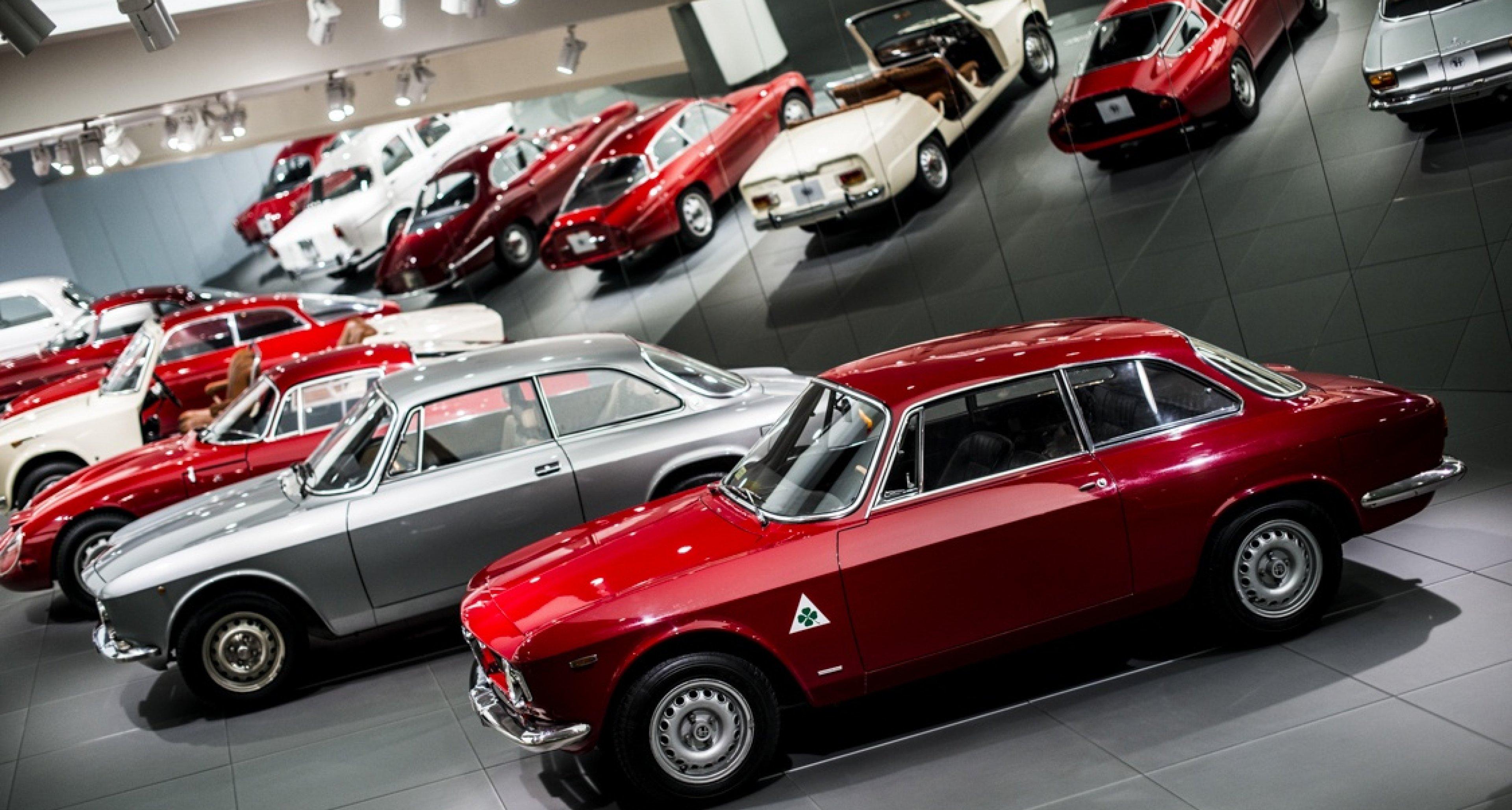 bewundern sie die uffizien der automobilkunst im alfa romeo museum