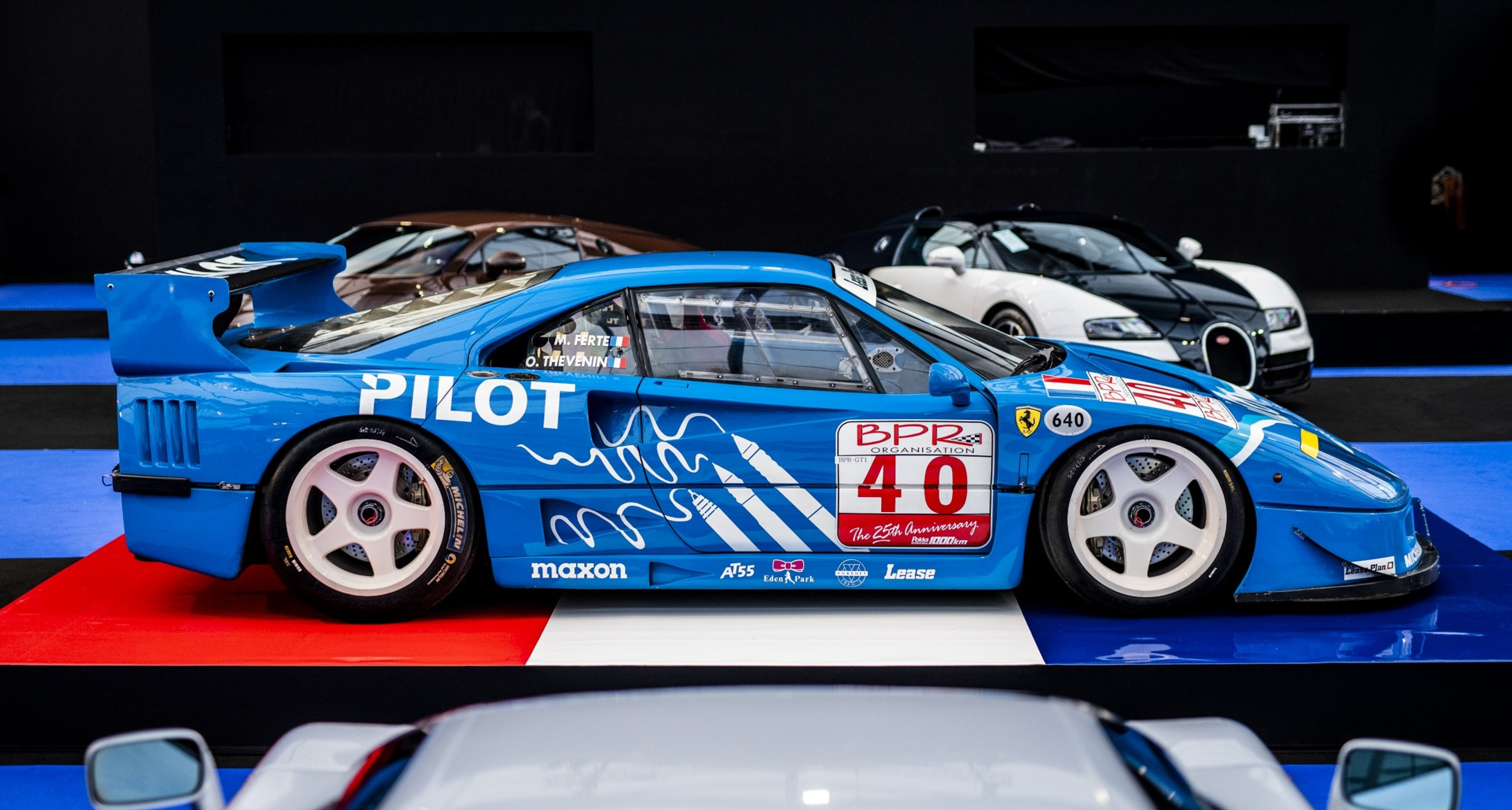 4 8m Ferrari F40 Lm Leads A Solid Charge For Rm Sotheby S In Paris Classic Driver Magazine