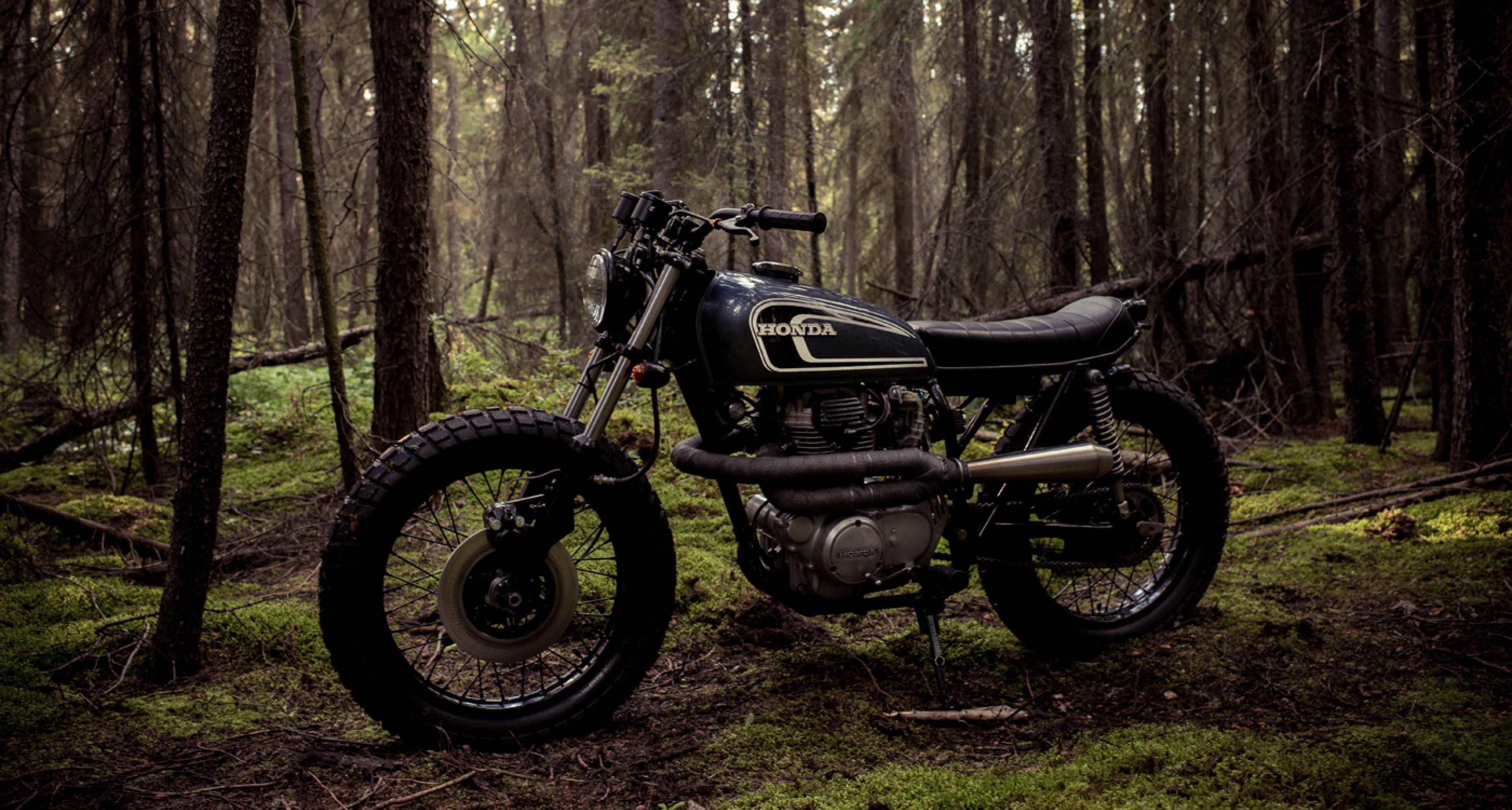 The Honda CB360 By Federal Moto Is Perfect Toy For Autumn