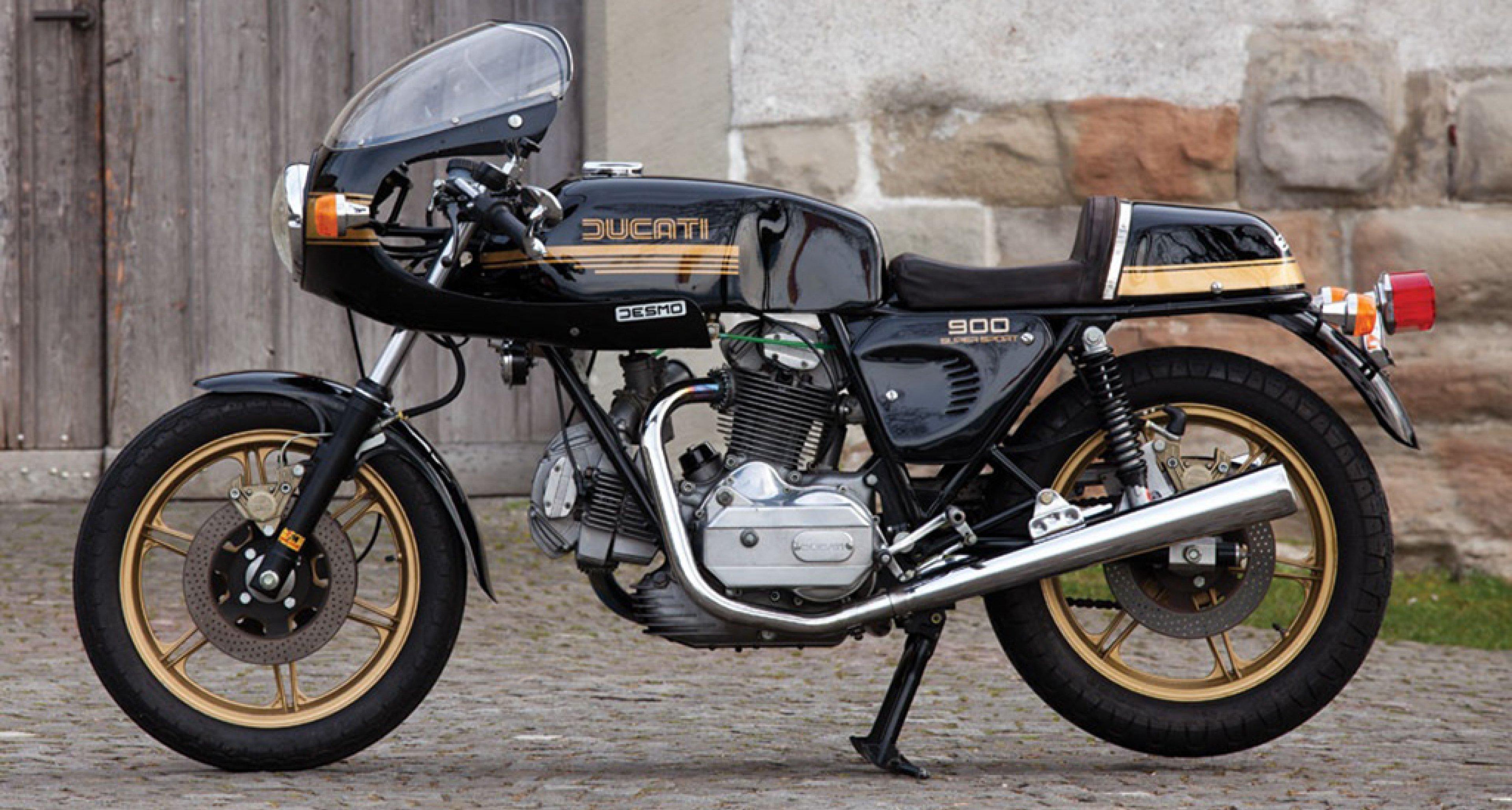 1981 Ducati 900 SS - Desmo