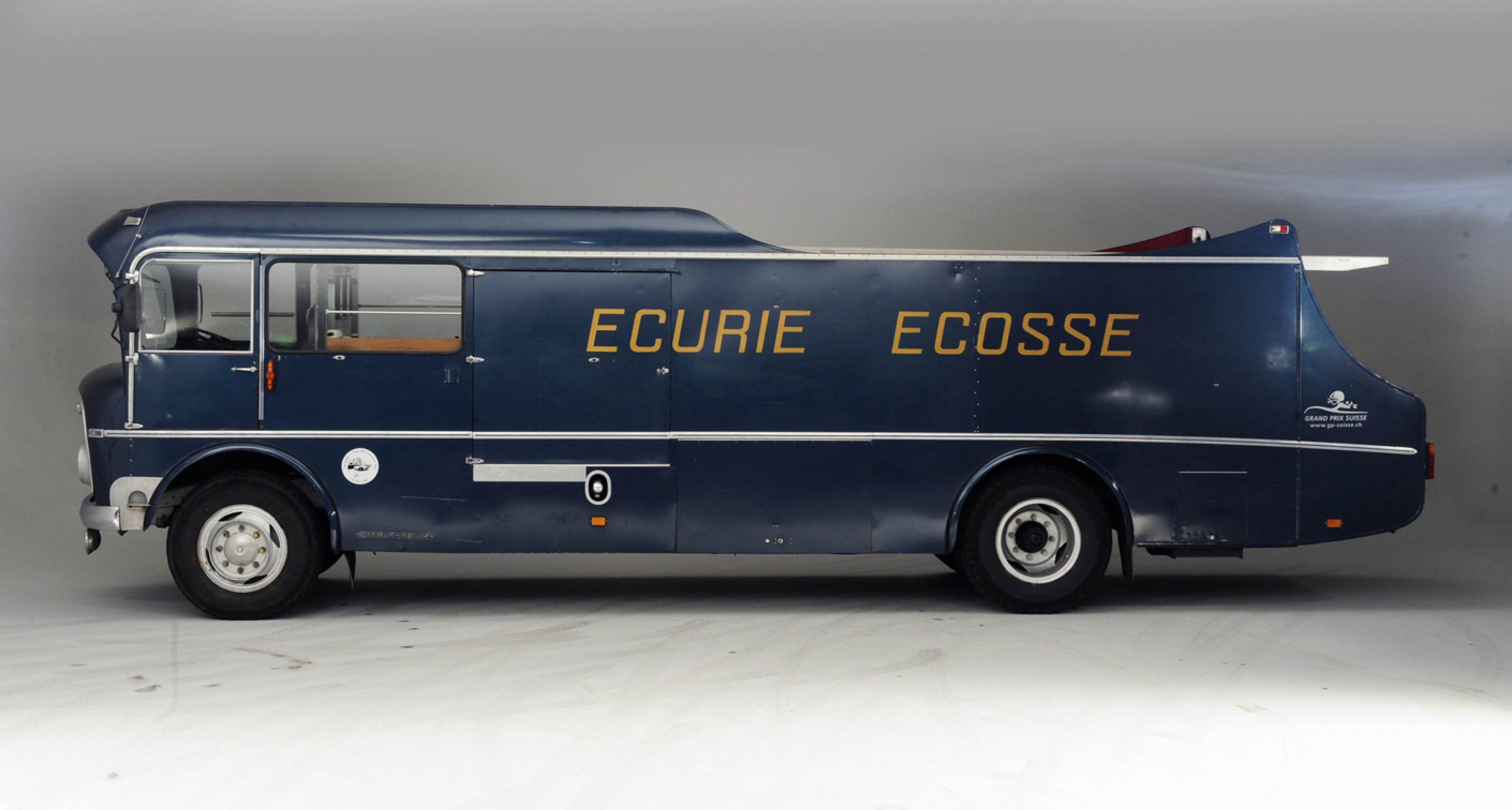Ecurie Ecosse's famous Commer Transporter