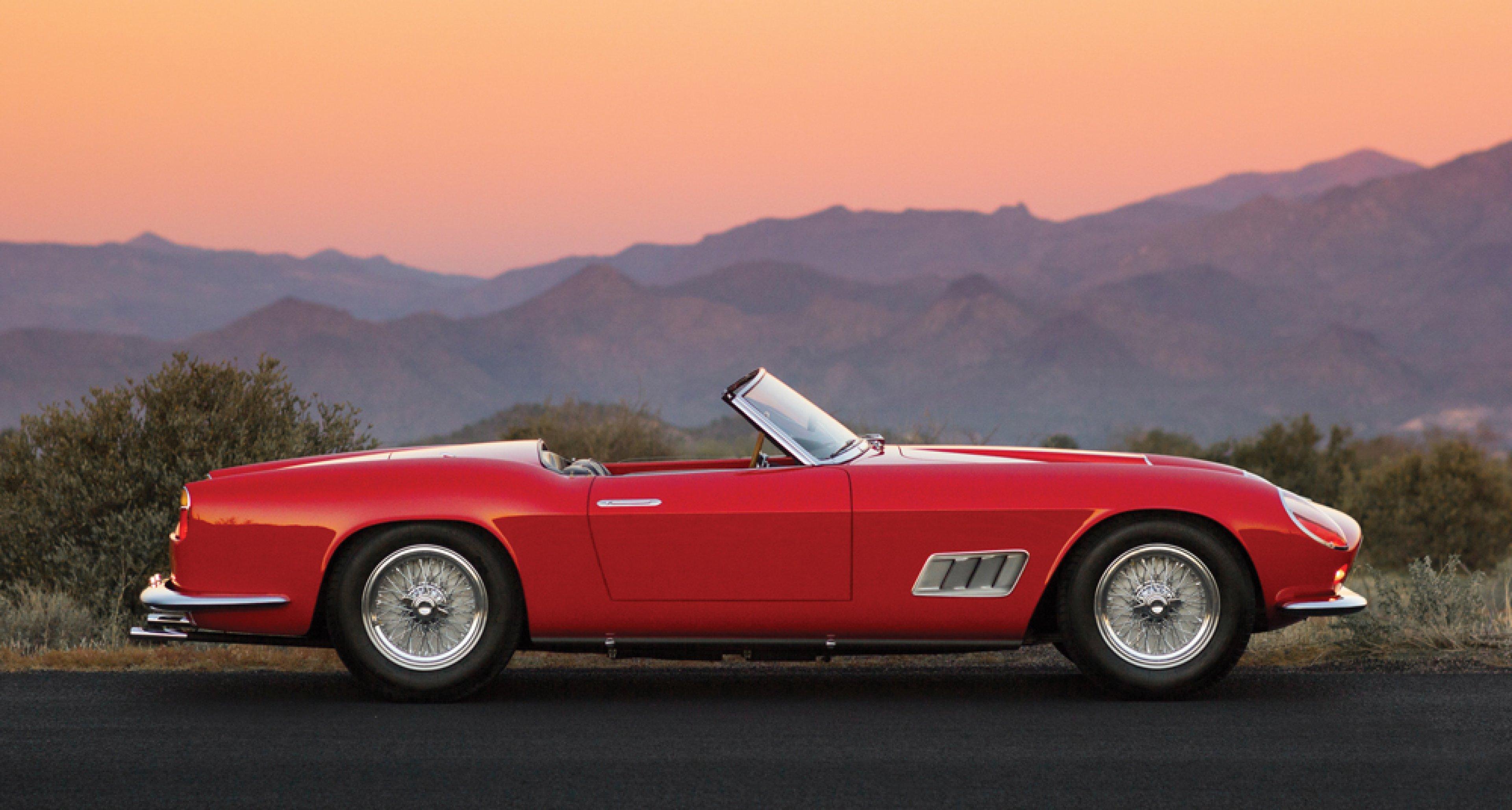 Timeless Classics Ferrari 250 Gt California Spider Classic Driver Magazine