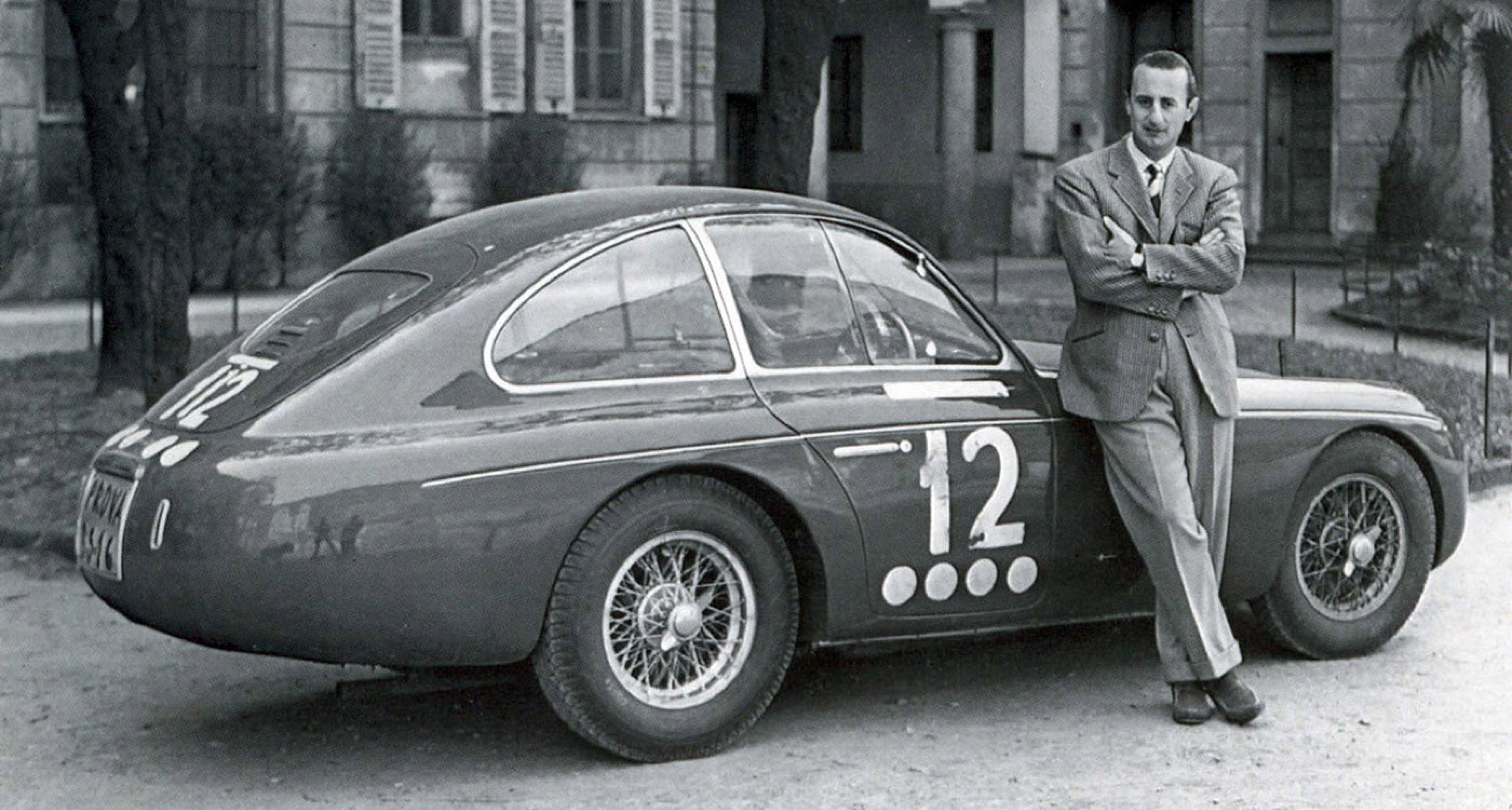 Ferrari 166MM Zagato Panoramica