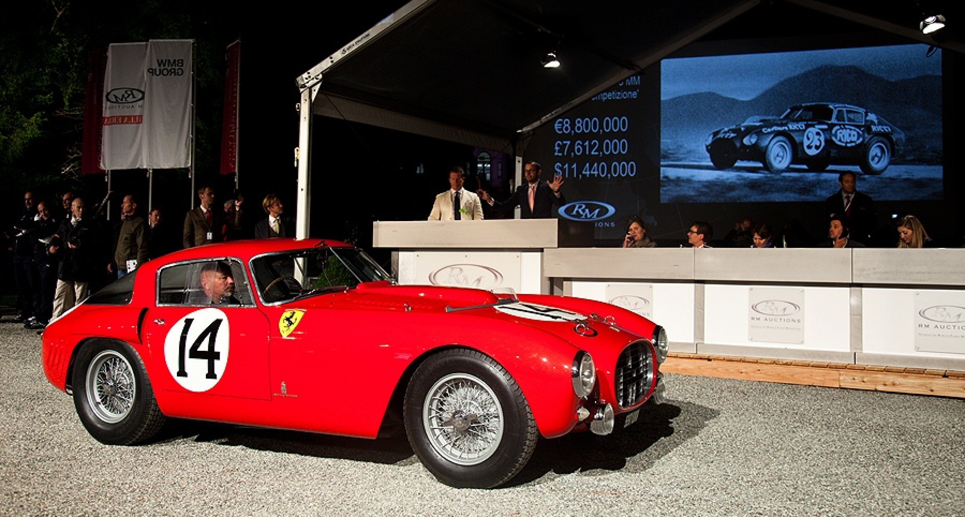 1953 Ferrari 340/375 MM EUR 10,000,000