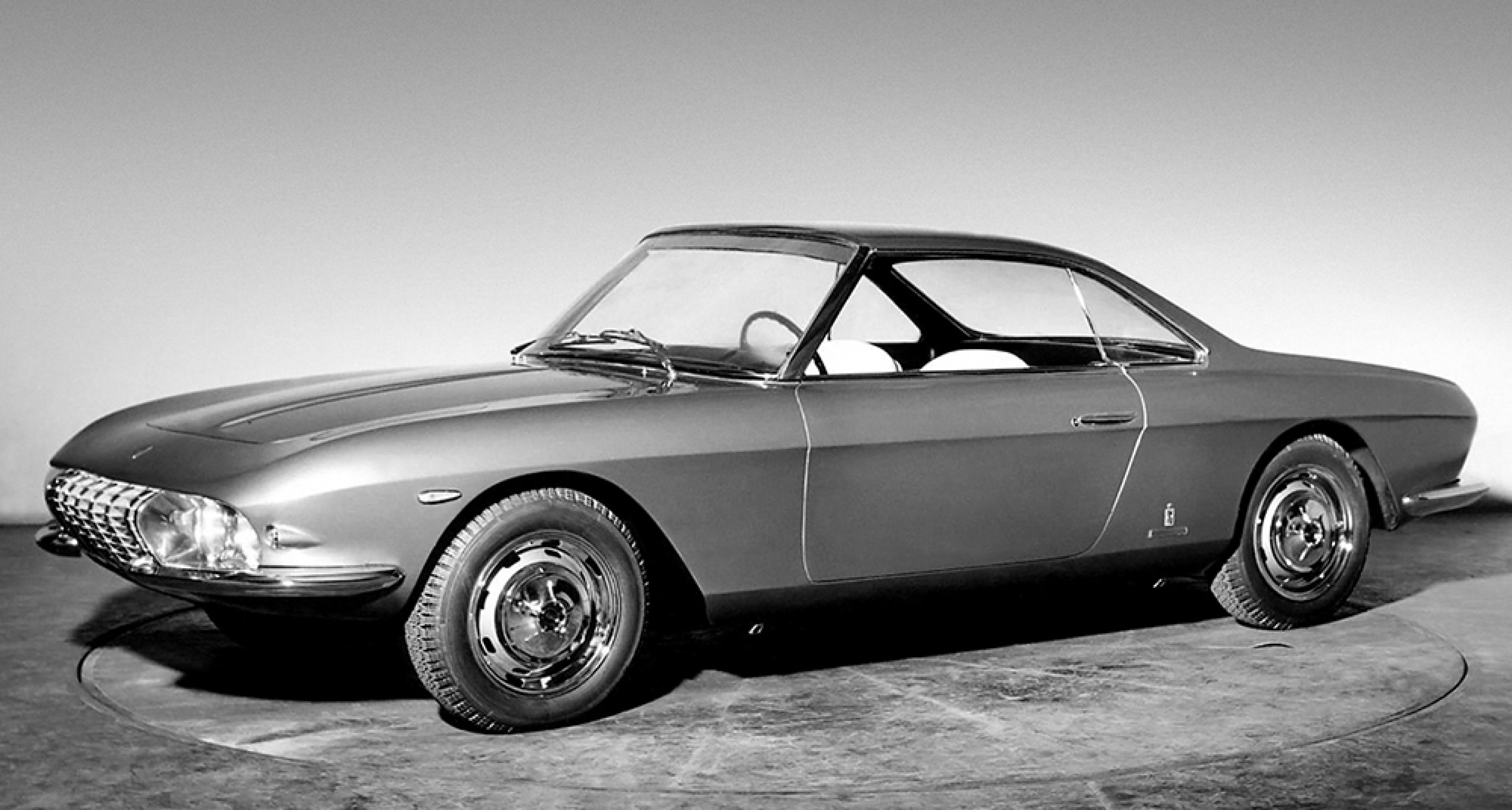 Fiat 2300 S Coupé Lausanne - presented at the 1964 Geneva Motor Show.