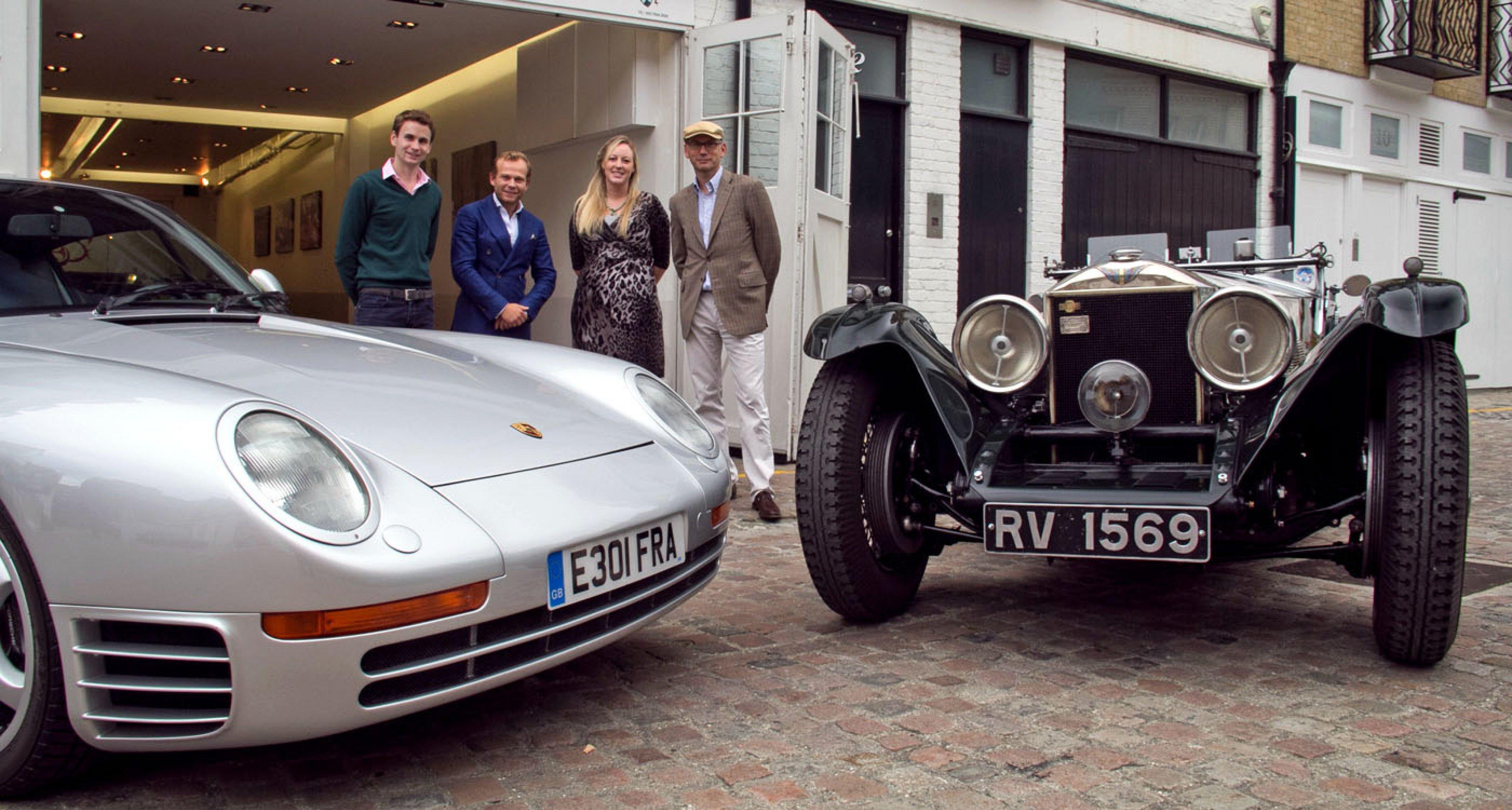 The Fiskens Team (L-R): Rory Henderson, Dylan Miles, Sophie Dawes and Gregor Fisken