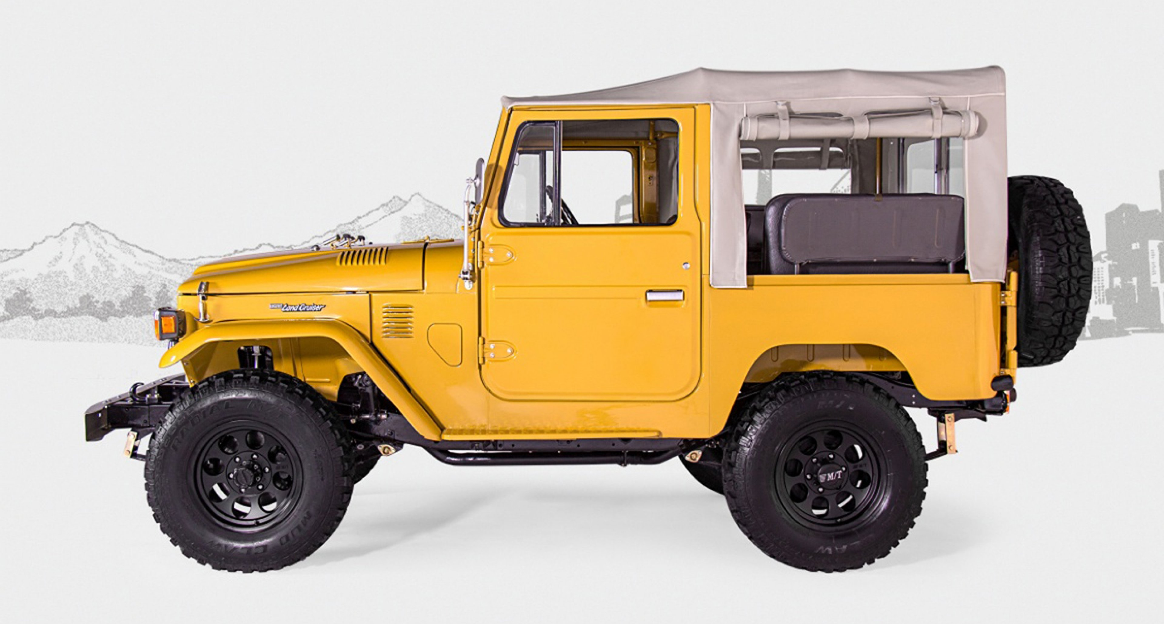 1972 Toyota Land Cruiser FJ40 by FJ Company