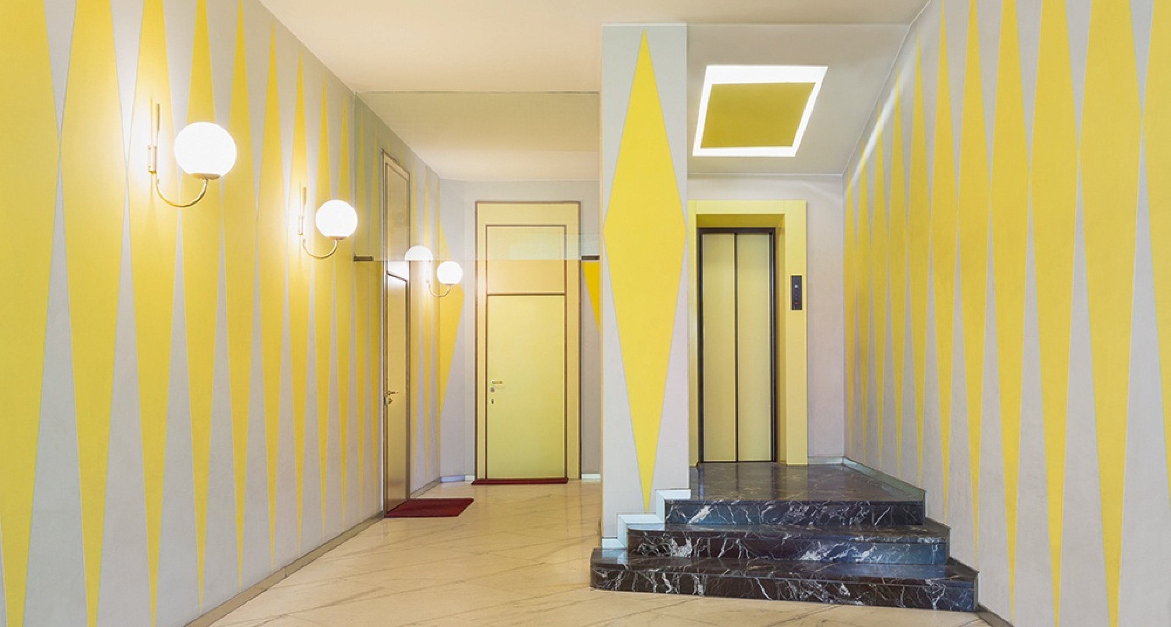 Casa Melandri, Gio Ponti, Alberto Rosselli, 1954–57. © Delfino Sisto Legnani