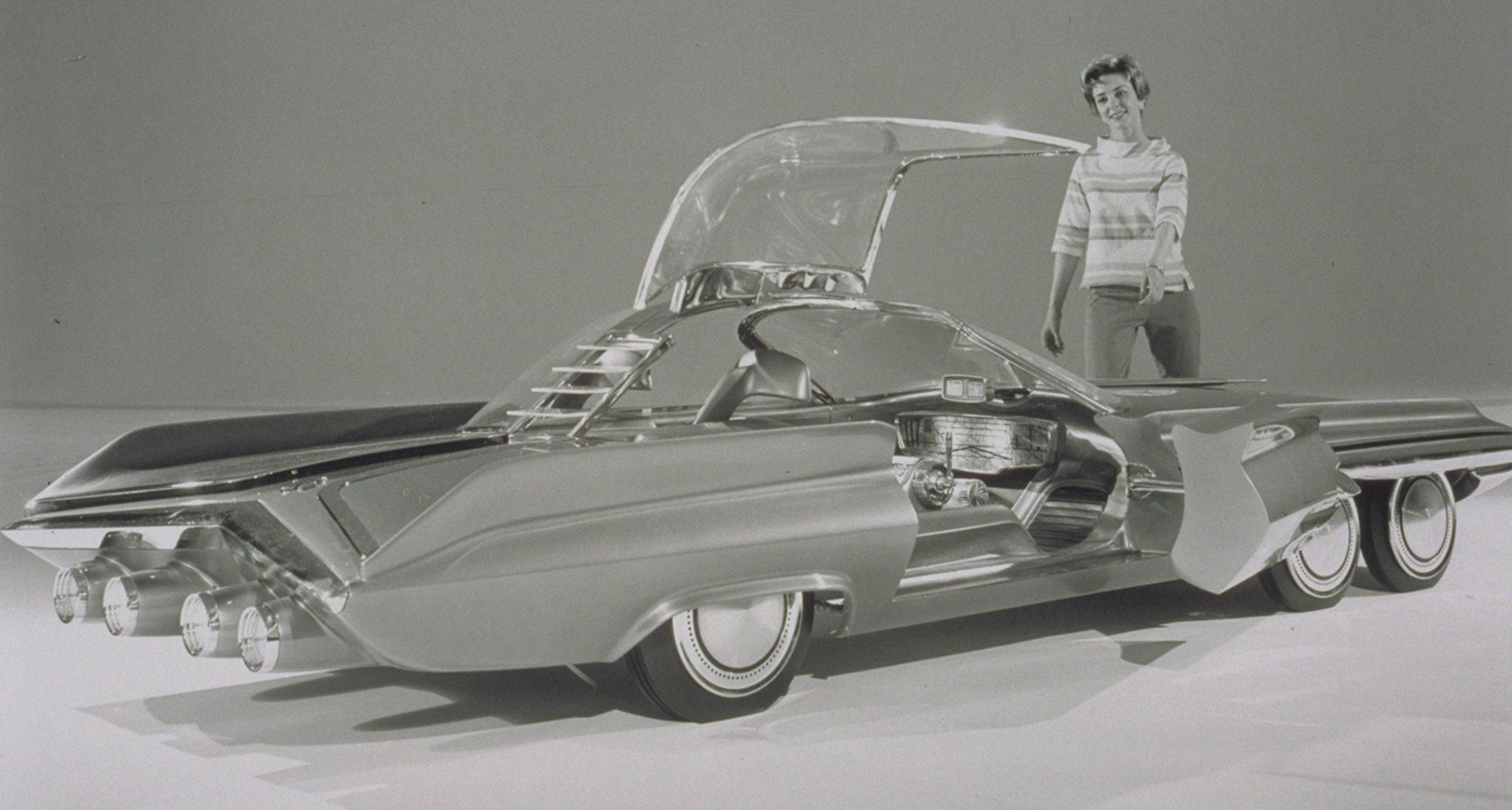 The 1962 Ford Seattle-ite XXI concept