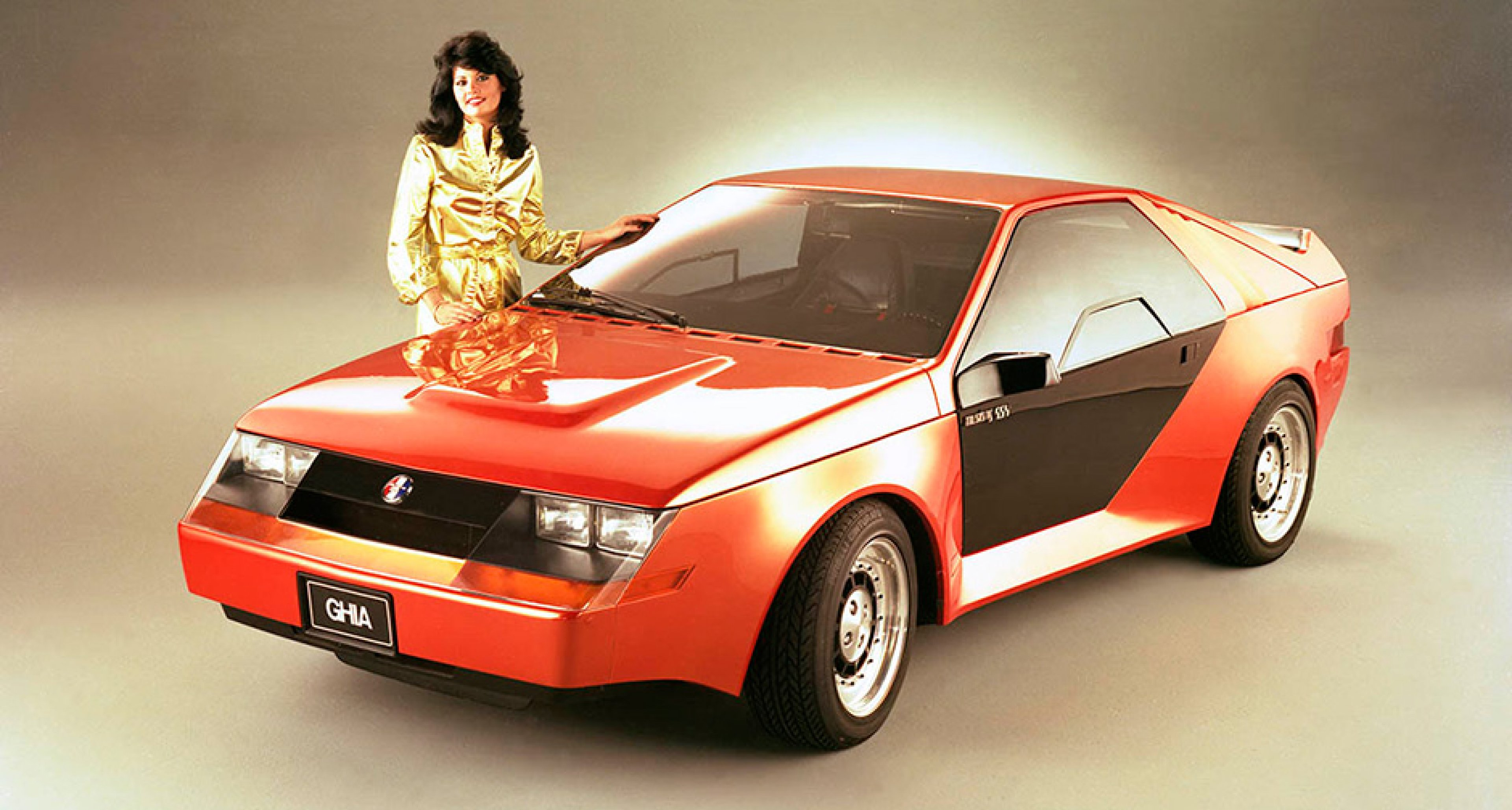 1980 Mustang RSX Concept, a rally-ready Fox-body penned by Ghia