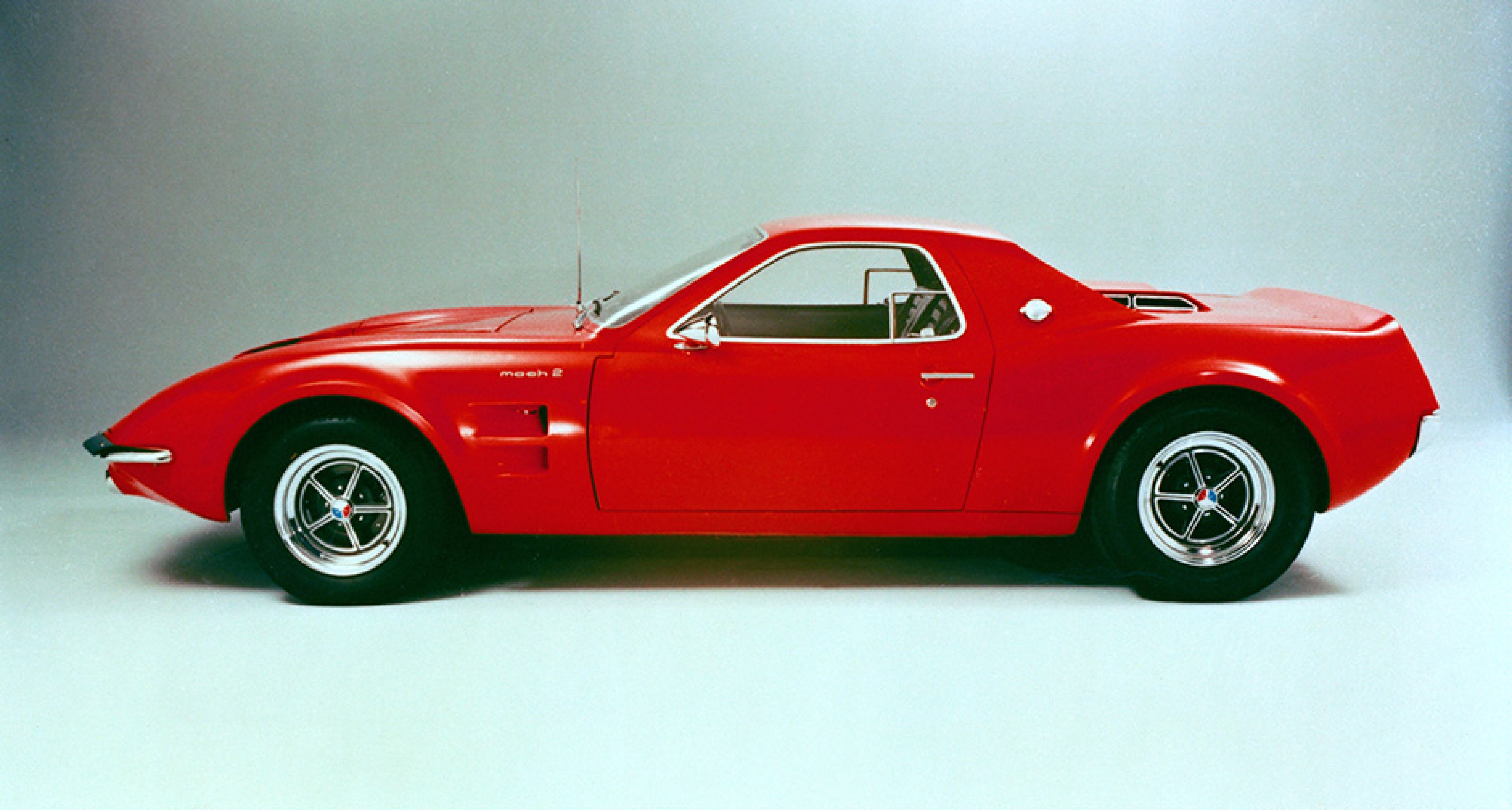 Another mid-engined Mustang, this time the 1966 Mach 1 Concept