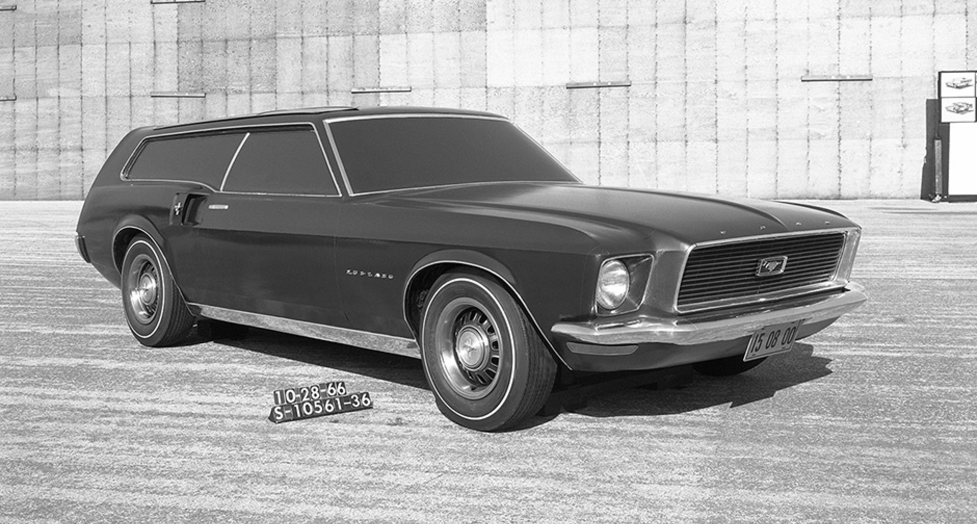 1966 Mustang shooting brake