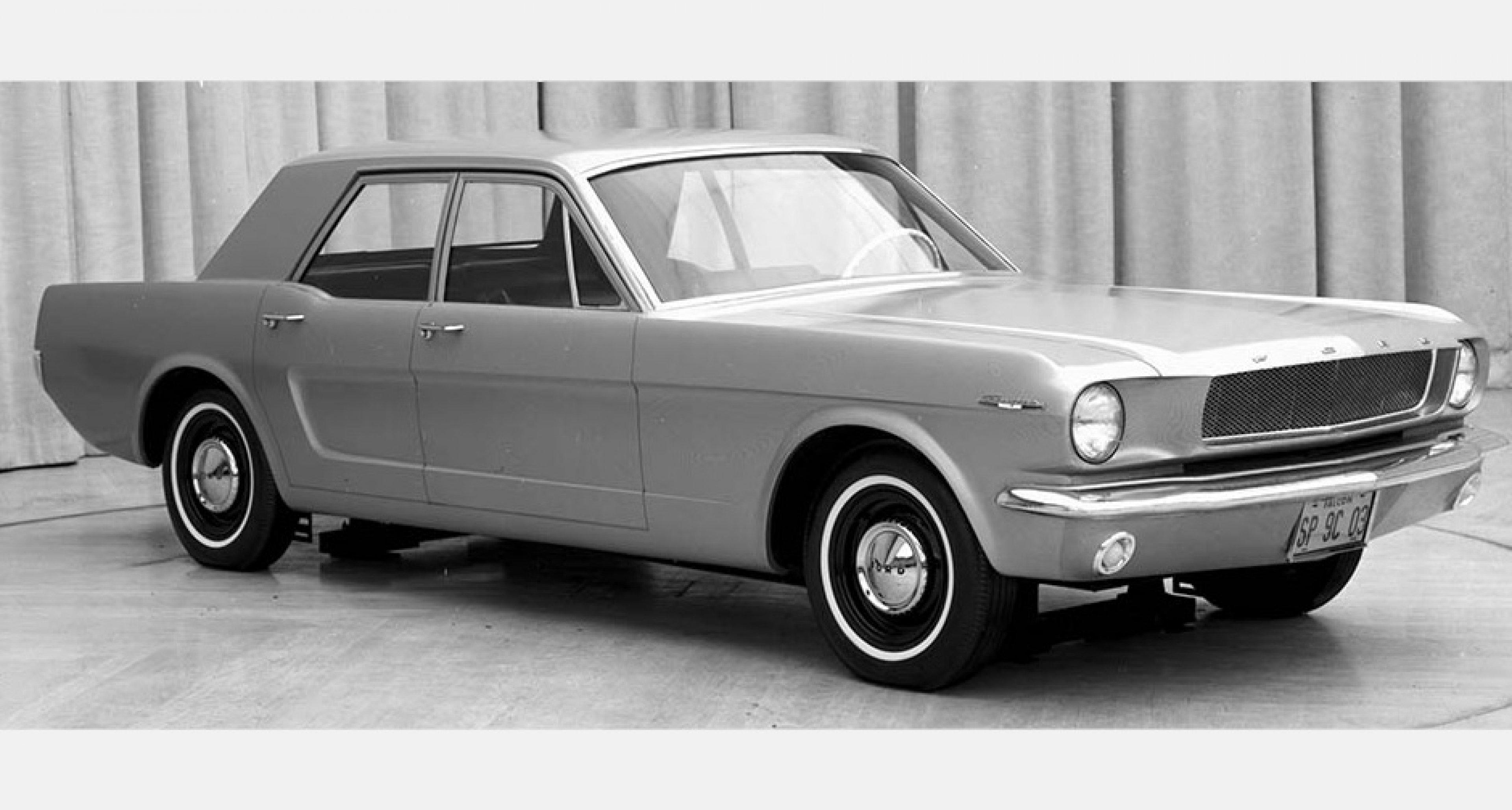 1965 four-door Mustang