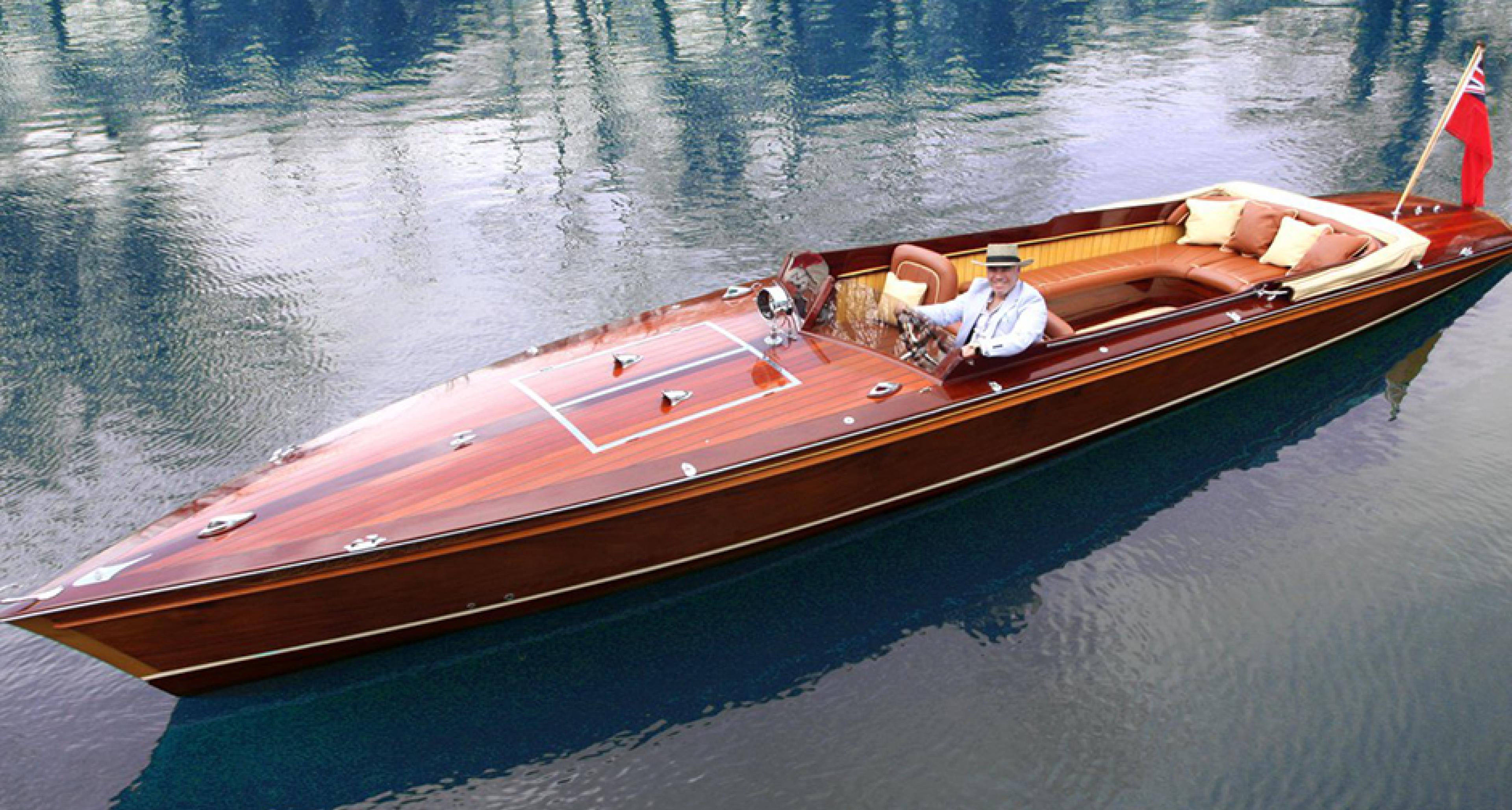What Happens When You Let Mclaren S Designer Build A Boat Classic